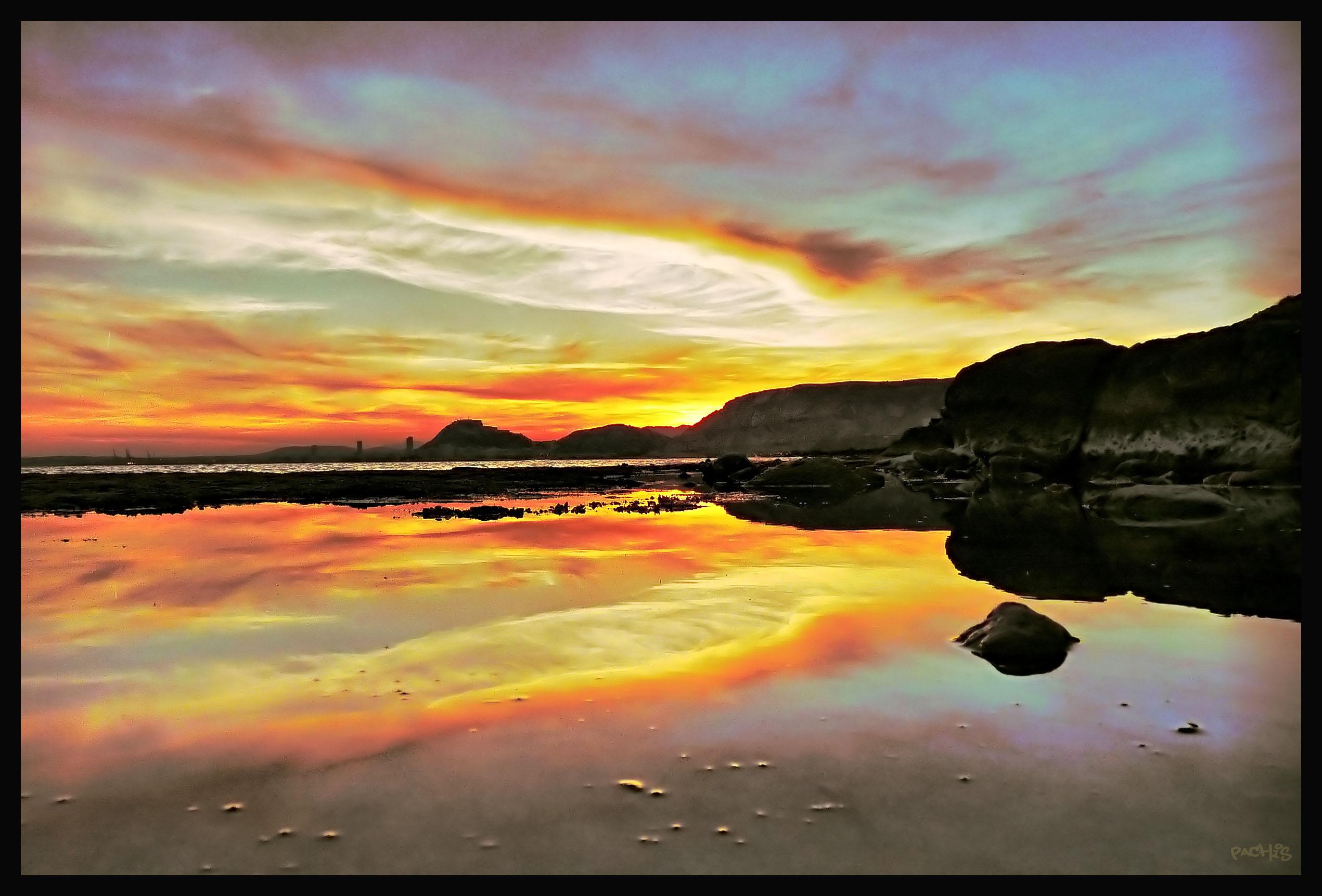 Foto playa Cala Cantalars. tranquilidad
