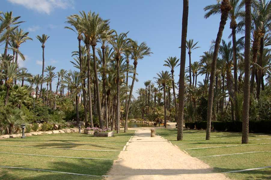 Foto playa Agua Amarga. Parque del Palmeral 03 by G76