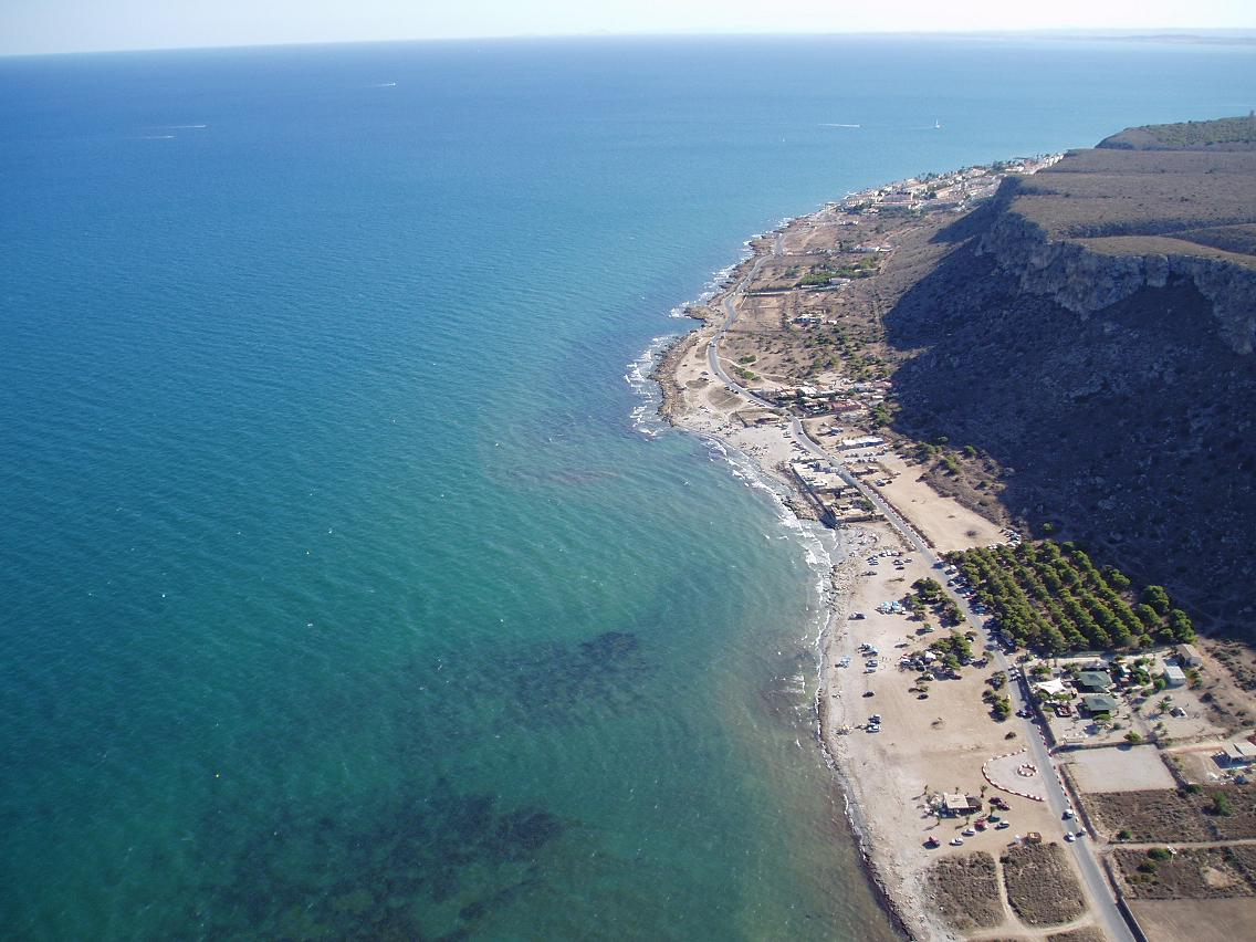 Foto playa Carabassi. Santa Pola