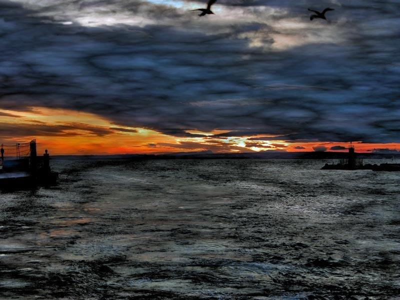 Foto playa Varadero. NUBES