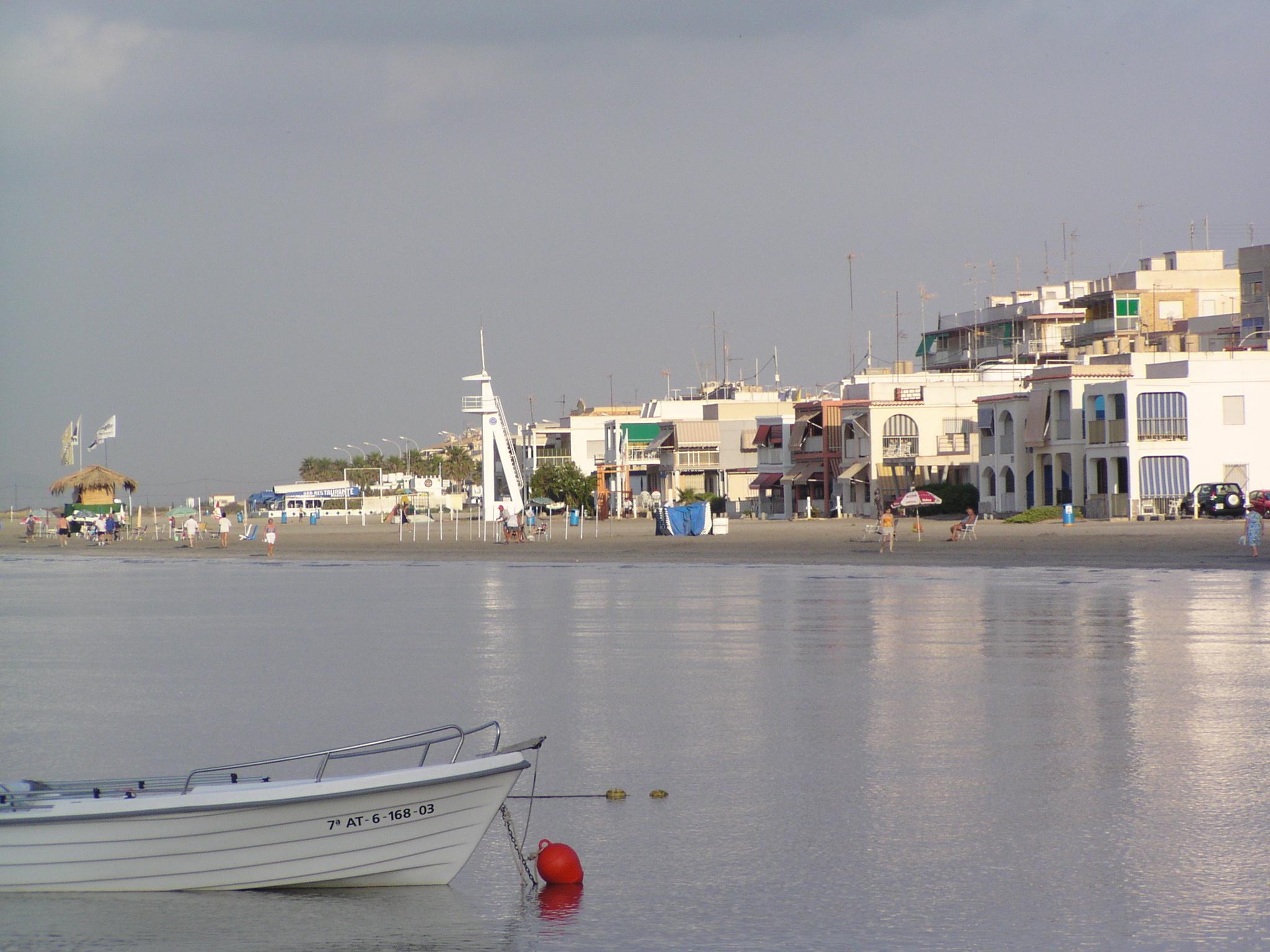 Foto playa Calas I-II-III Santiago Bernabeu. Santa Pola