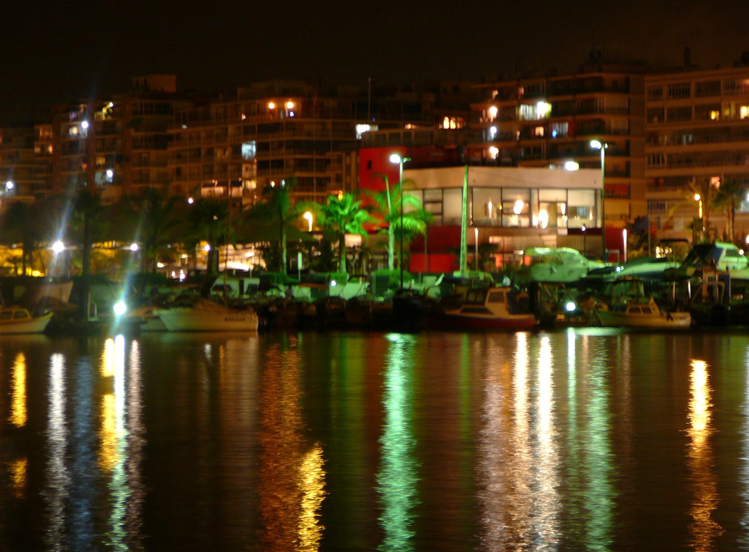 Foto playa Playa de Levante. Noche en Santa Pola