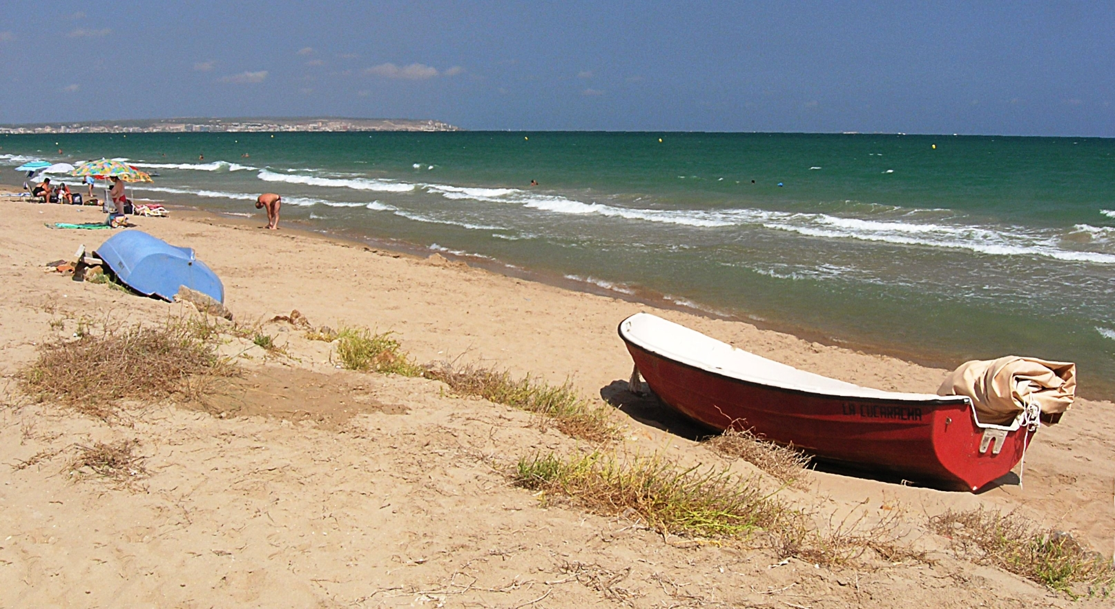 Foto playa El Pinet. Strand El Pinet (bei La Marina)