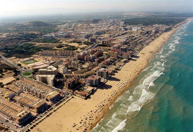 Foto playa El Moncayo. Foto Aerea Guardamar © (www.fotoseb.es)