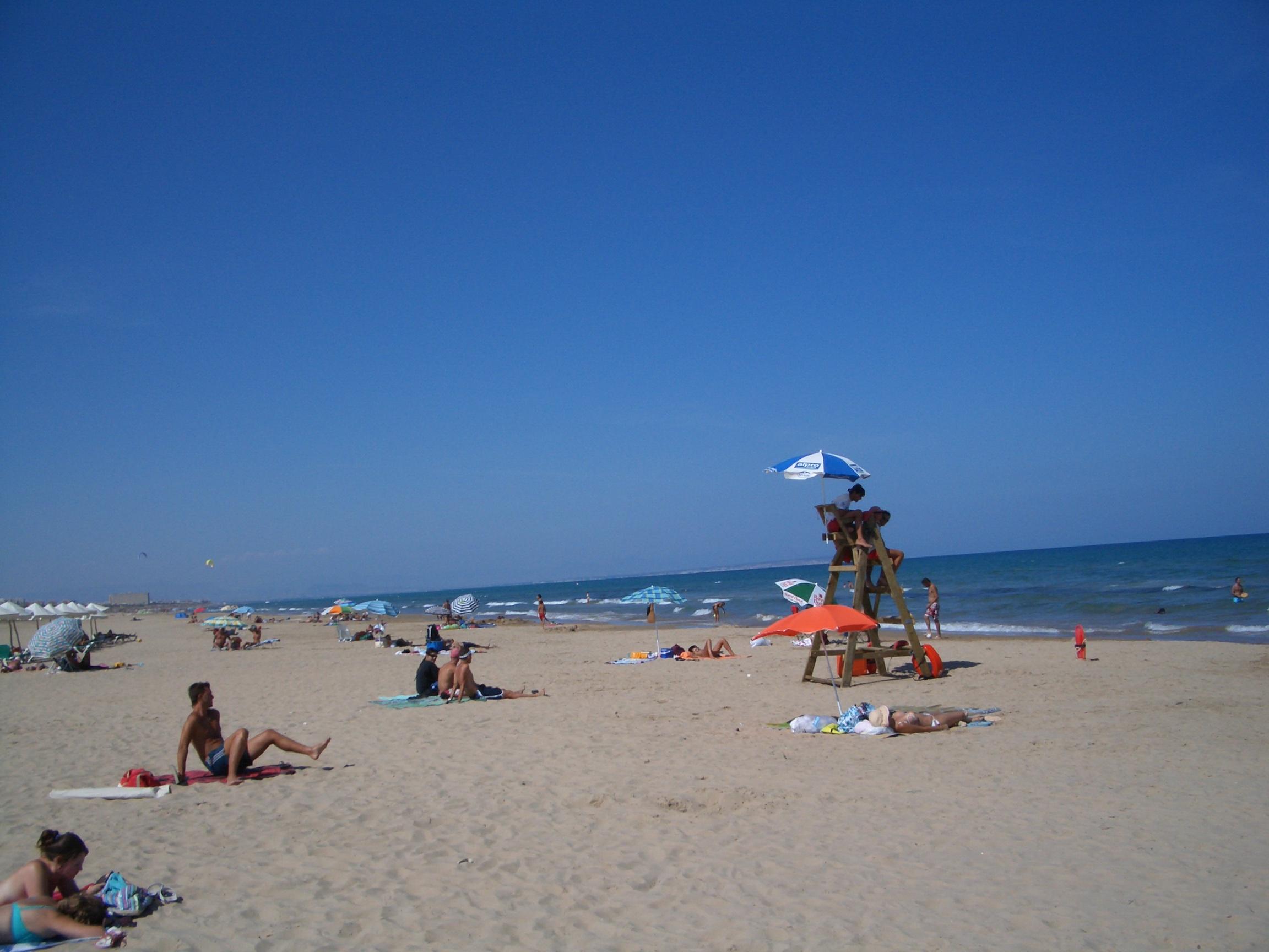 Foto playa El Campo. Playa del Moncayo, Guardamar del Segura