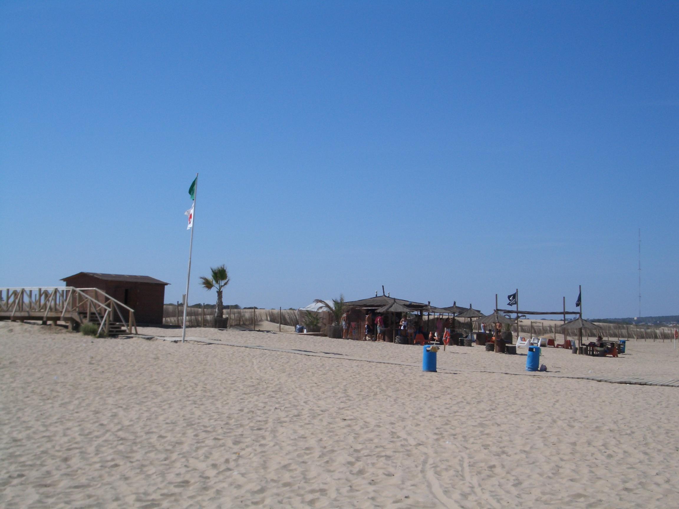 Foto playa El Campo. Chiringuito, playa del Moncayo, Guardamar