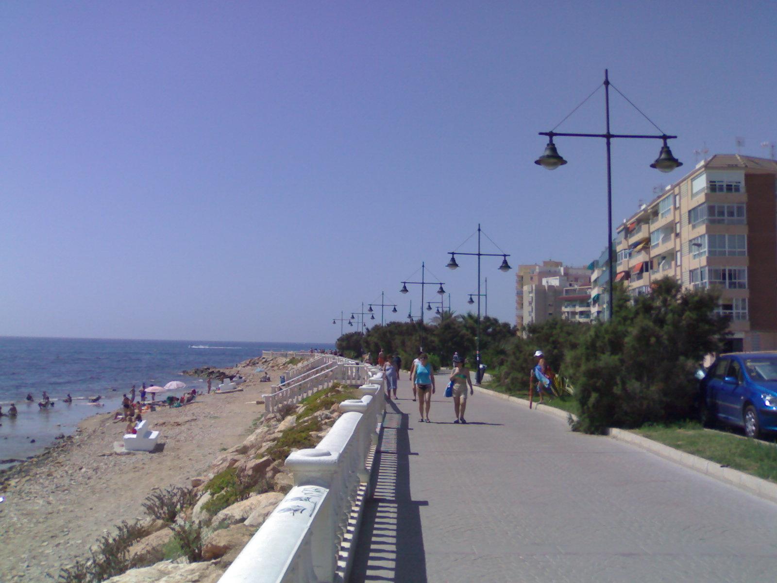 Foto playa Cala del Palangre / Tamarit. torrevieja sea side 1