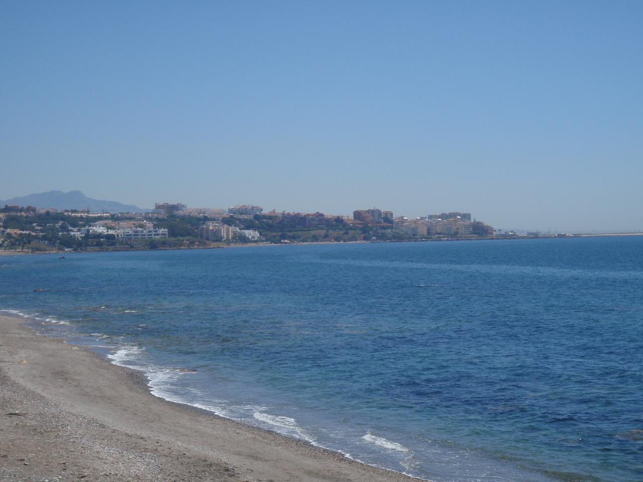 Foto playa El Cristo. Estepona - Spain