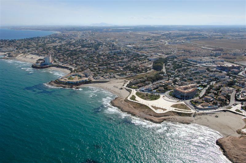 Foto playa Cala Cerrada / La Zenia. Aerea, Costa Playa Flamenca & La Zeniaieja © (www.fotoseb.es)