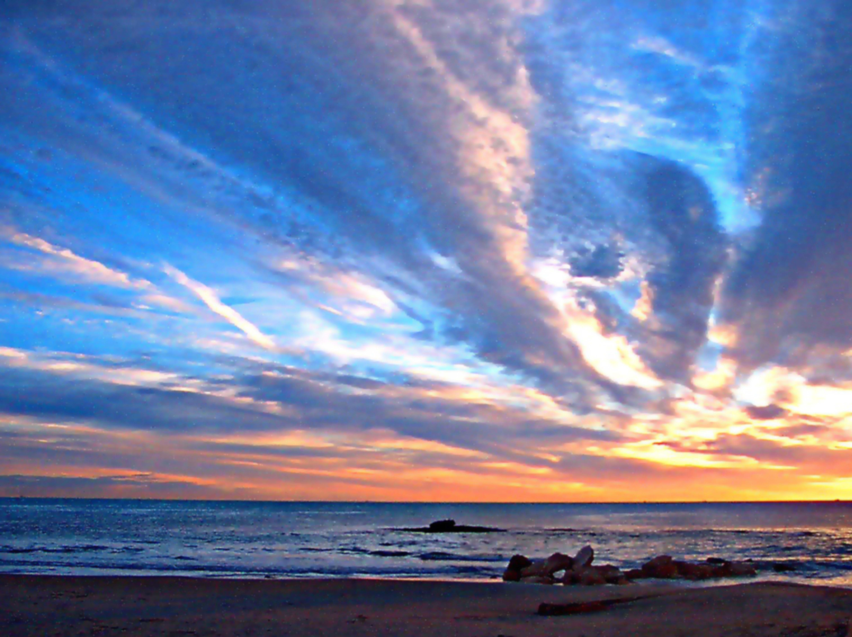 Foto playa La Caleta / Cabo Roig. Amanecer