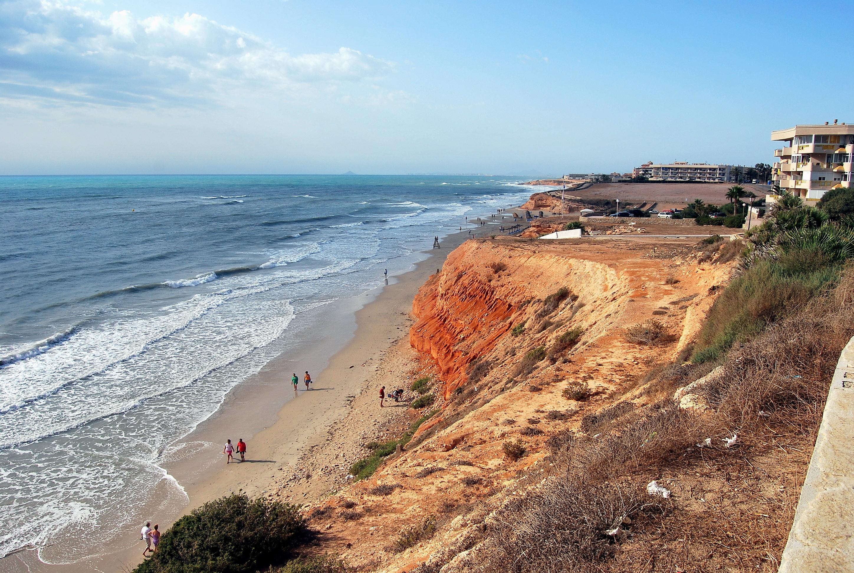 Foto playa Barranco Rubio. Hacia Mil Palmeras