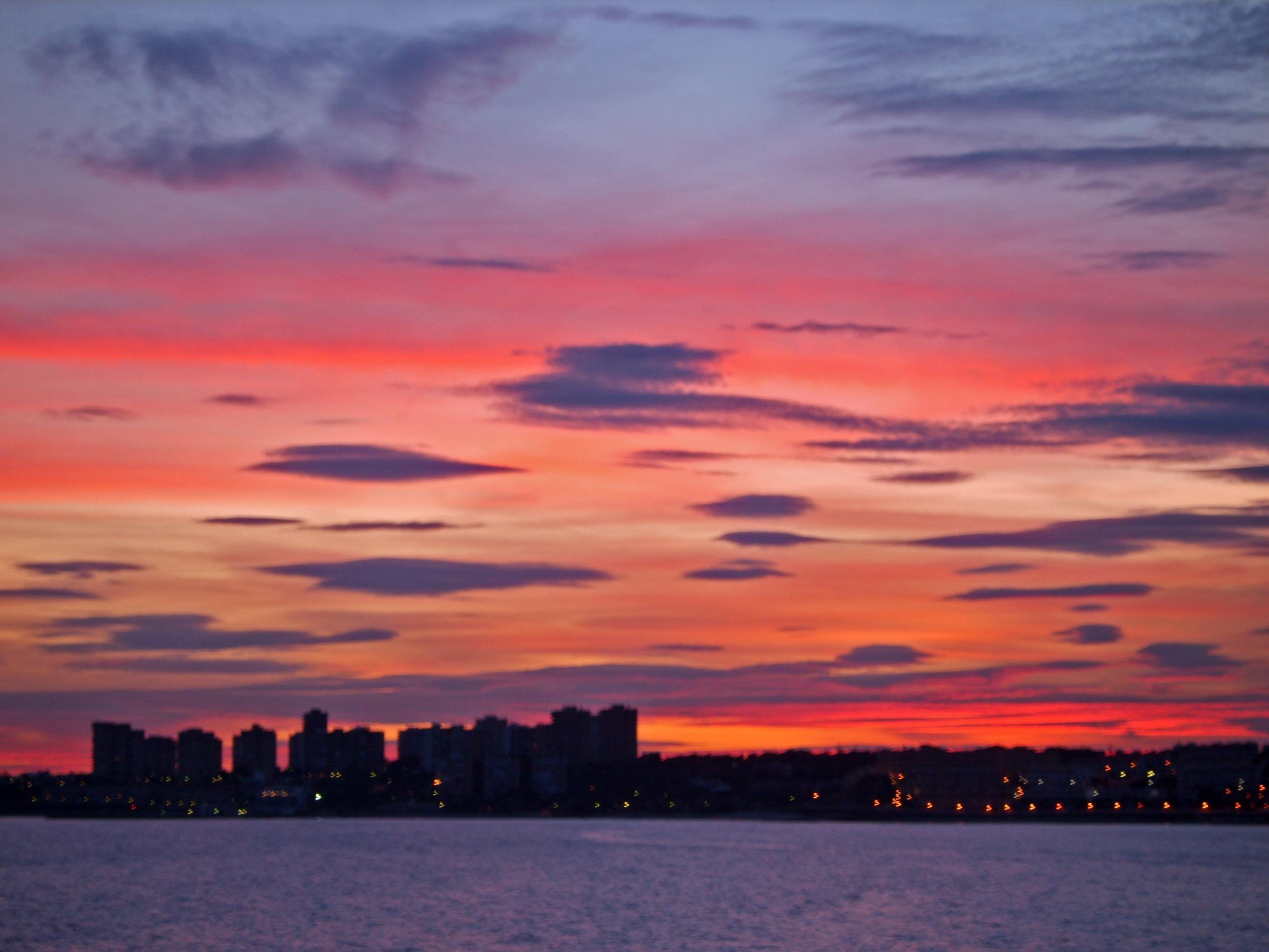 Foto playa Calas de Rocamar. Campoamor, Sunset