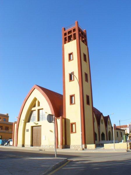 Foto playa El Conde. Iglesia-La Torre de la Horadada-Pilar de la Horadada (Alicante)