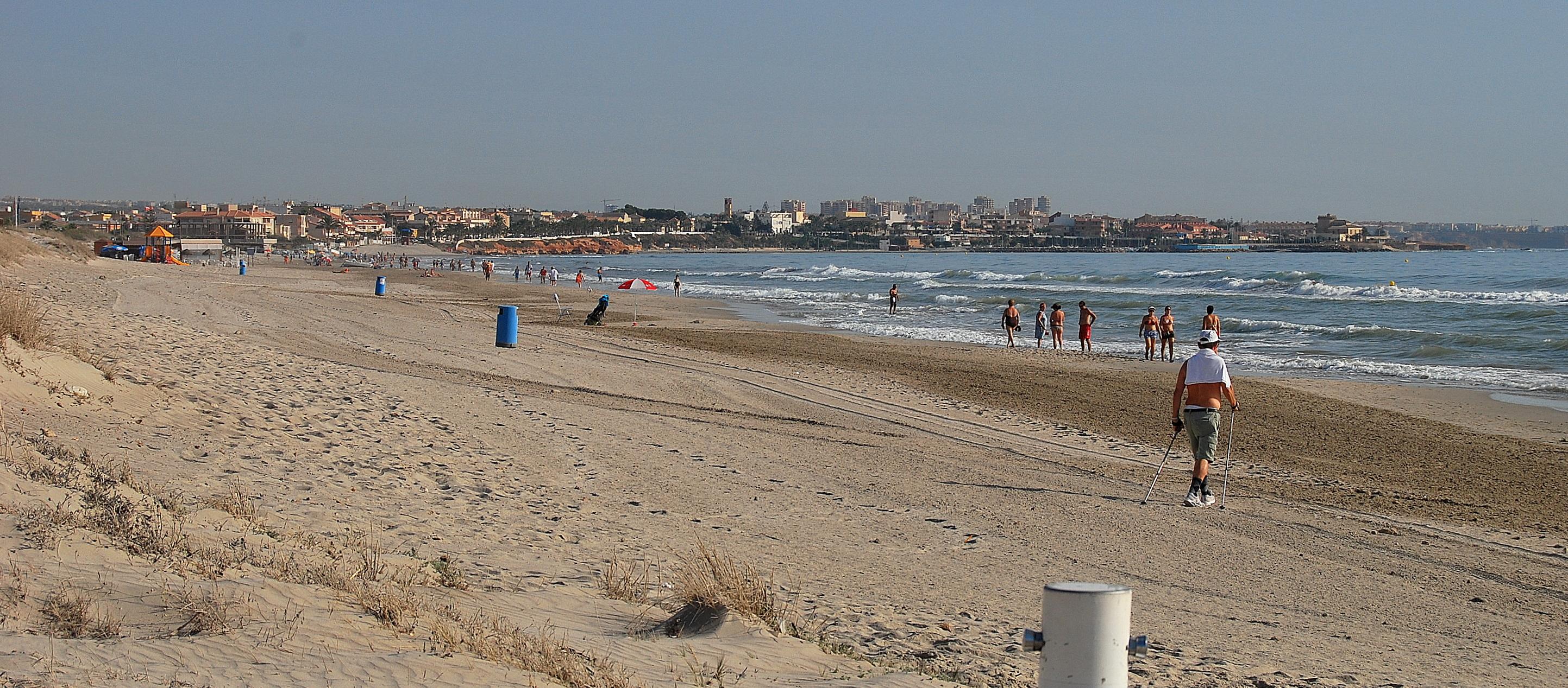 Foto playa El Mojón. El Mojón Beach