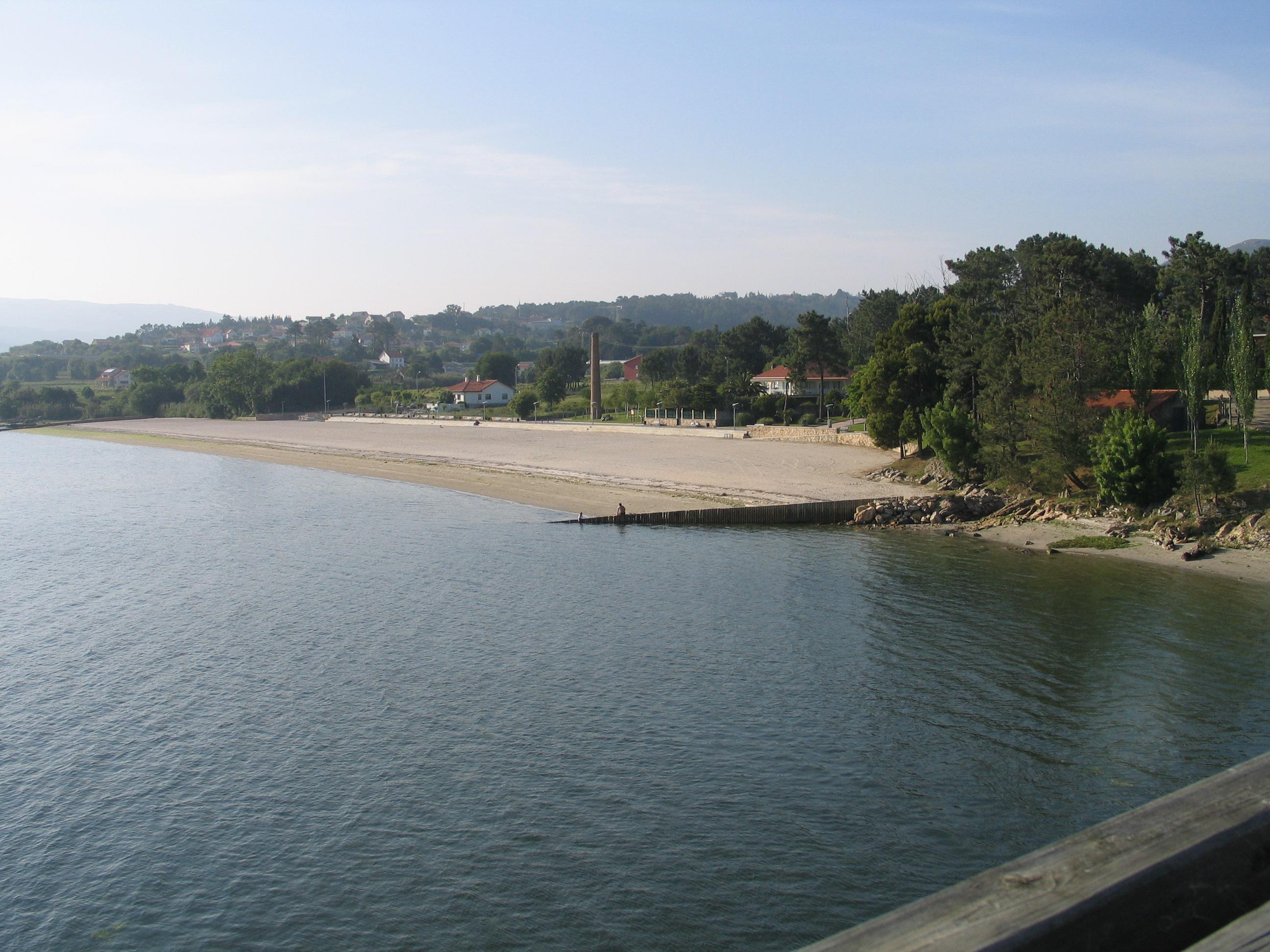 Foto playa O Pazo. PRAIA DA TORRE EN TARAGOÃ'A (RIANXO)
