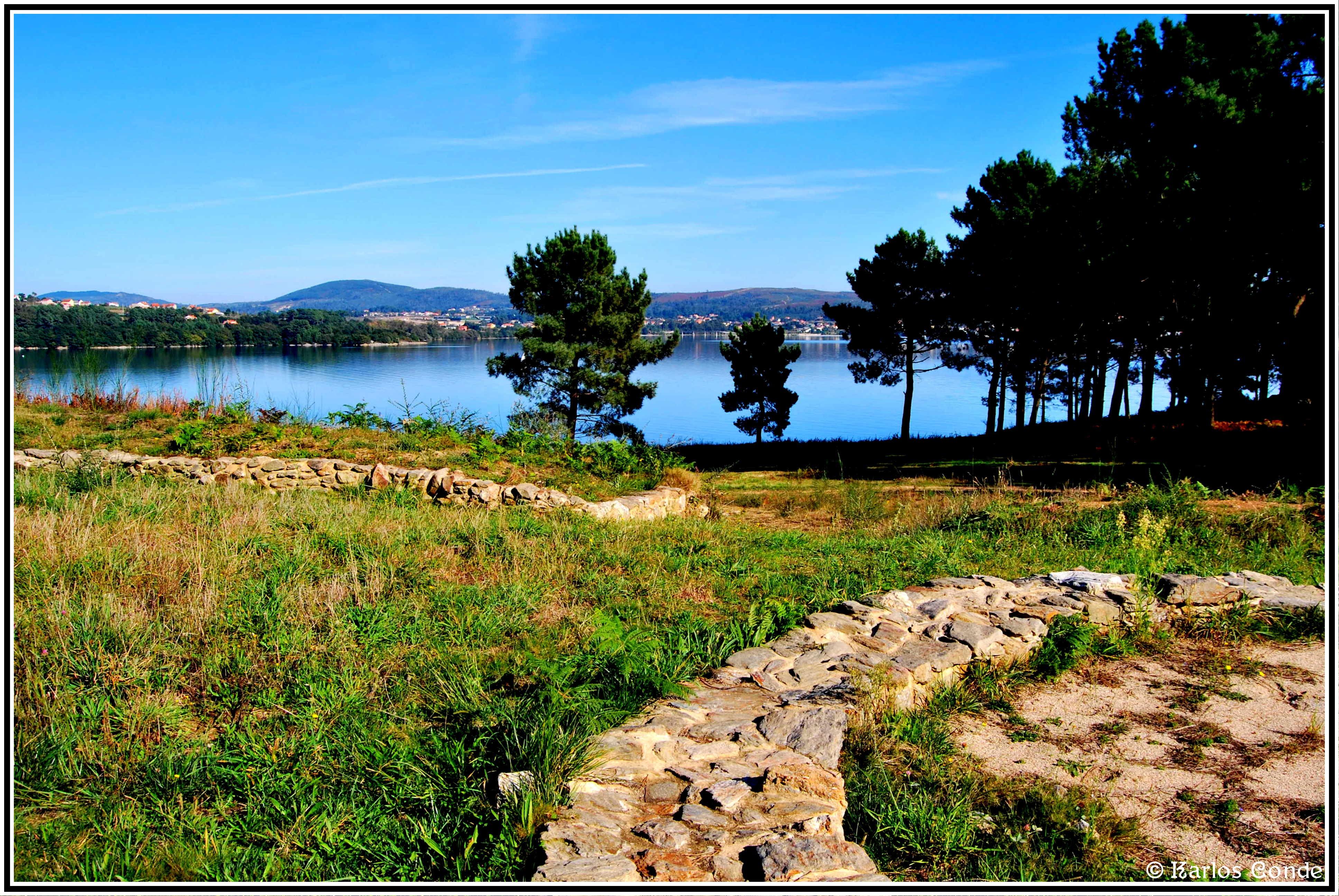 Foto playa Quinteiro. Castro de Neixón 06 (Asentamiento 2º)