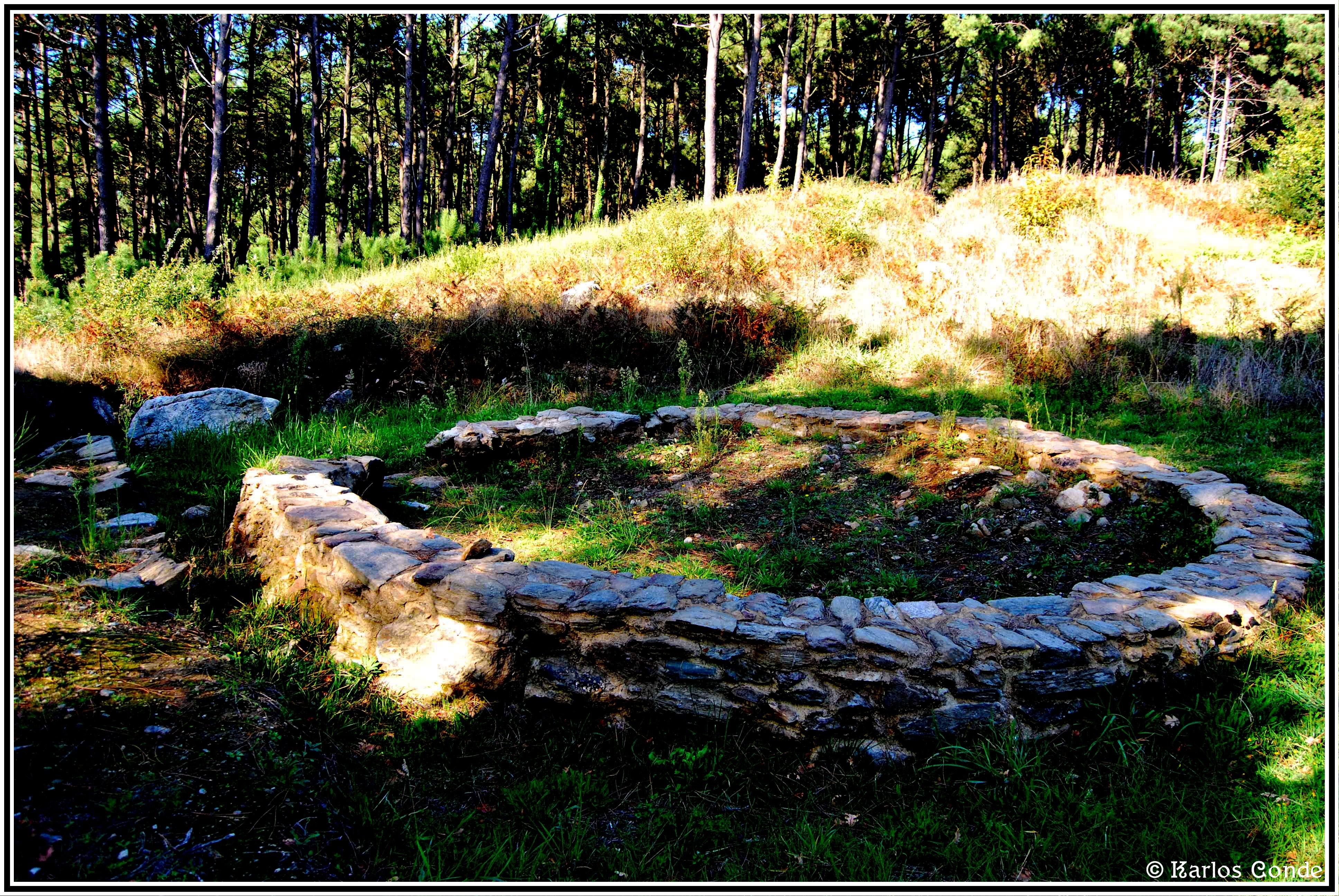 Foto playa Lóbrigo. Castro de Neixón 04 (Asentamiento 2º)