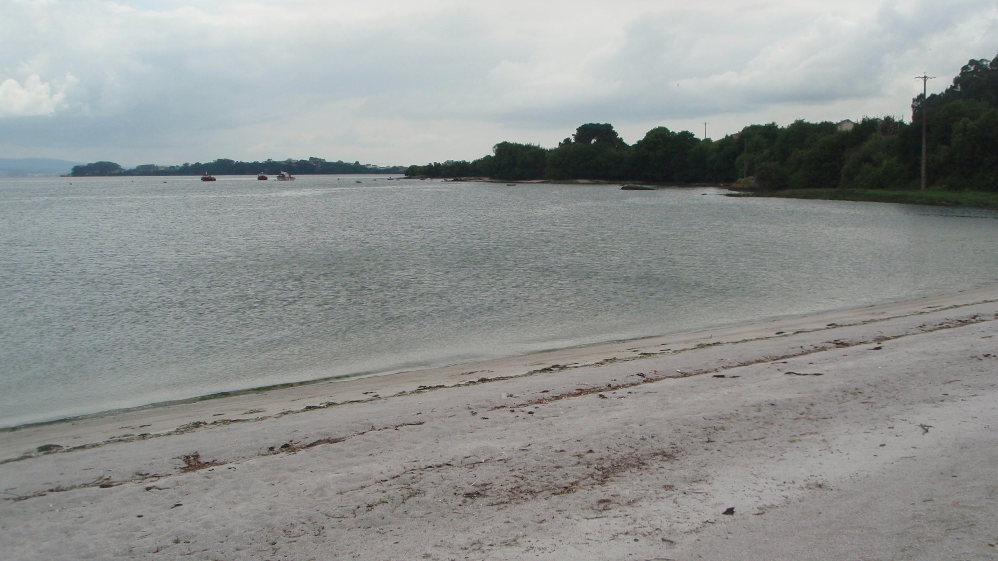 Foto playa Area Basta. Praia de S. Vicenzo de Mar