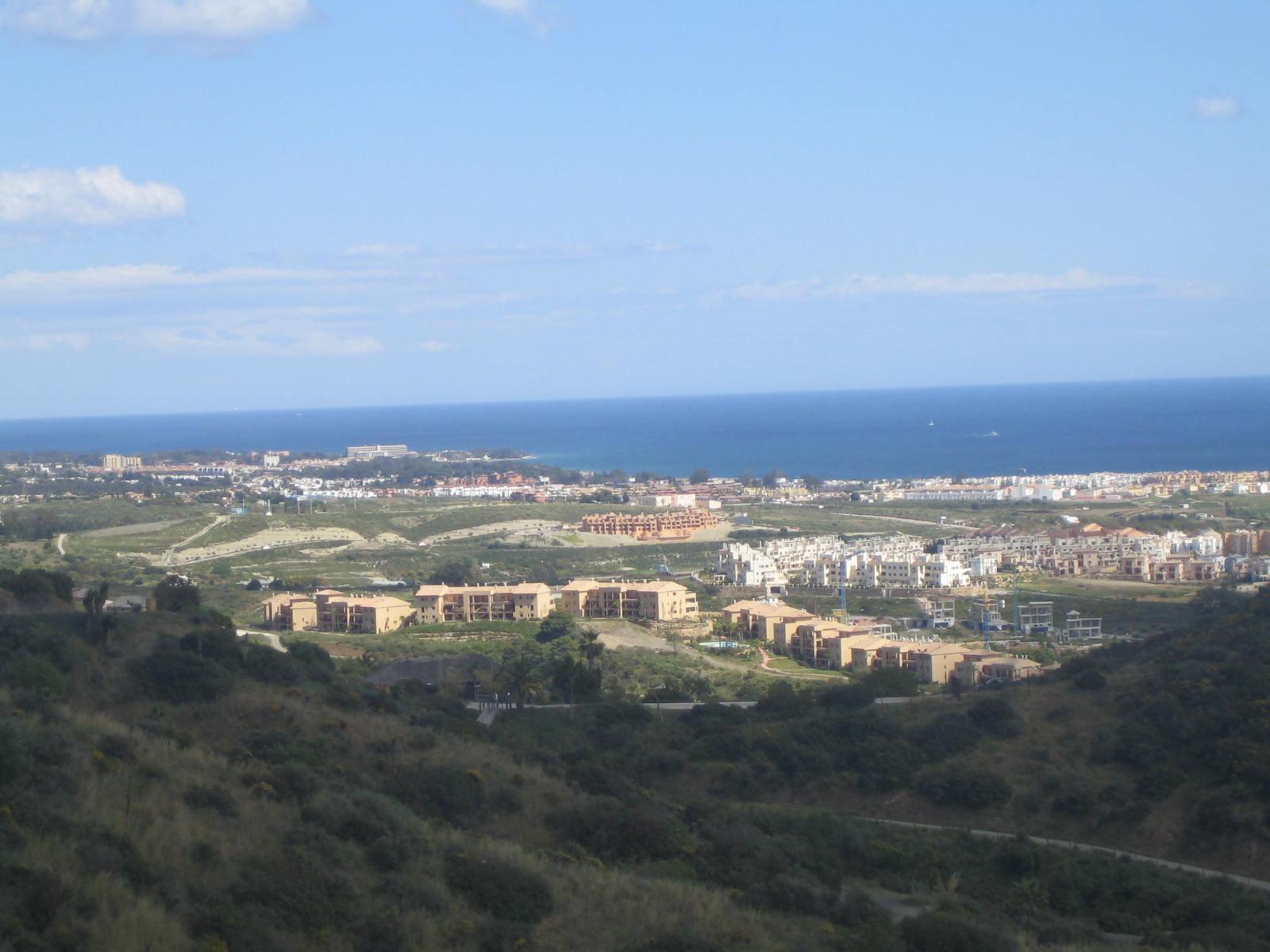 Foto playa Bahía Dorada. vista de Estepona a Algecira