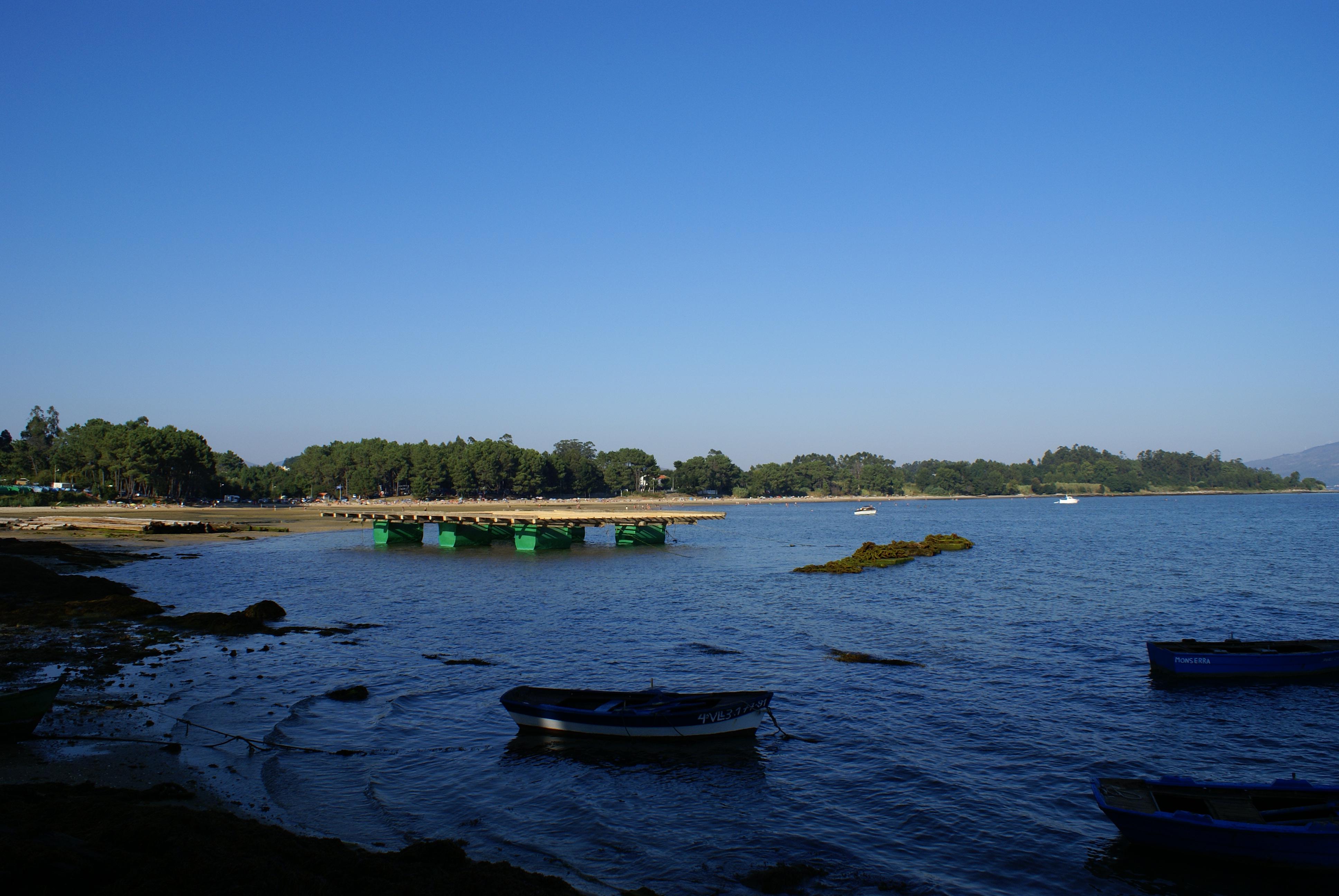 Foto playa Mañóns. Mañons