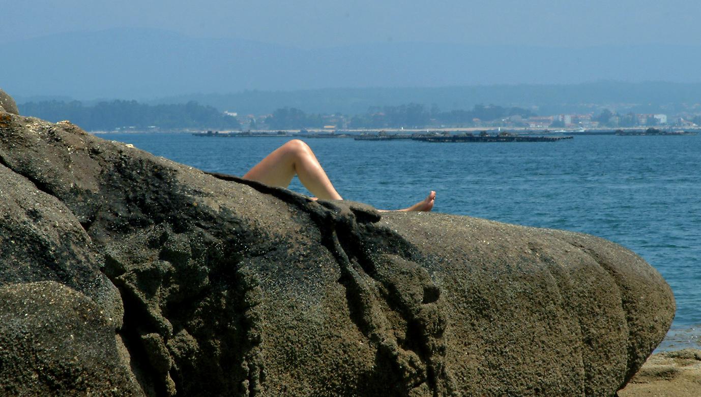 Foto playa Carragueiros. Asoma...