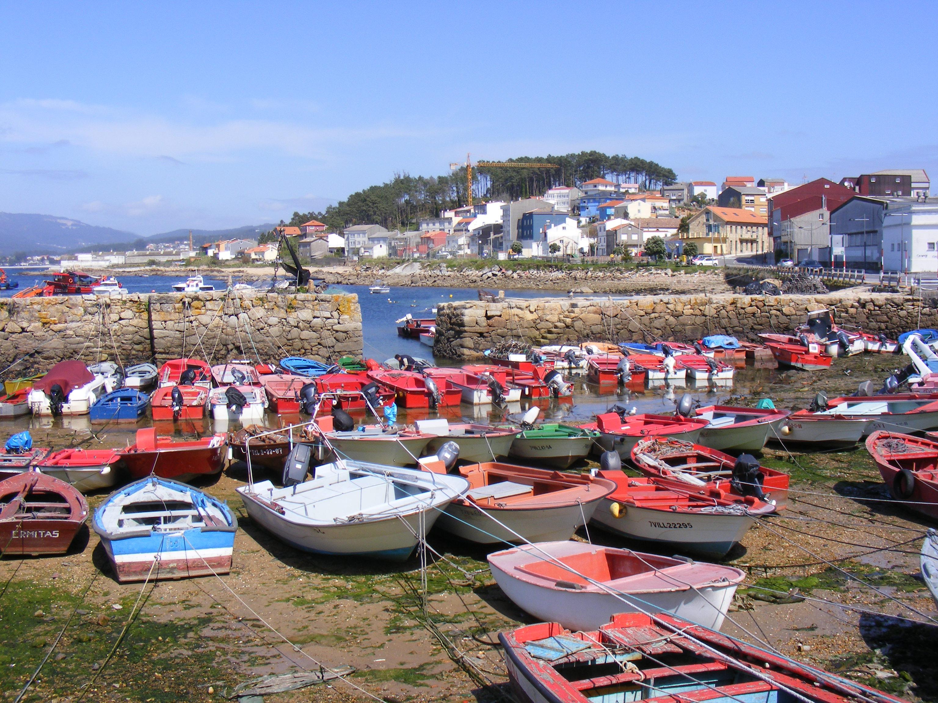 Foto playa Piñeirón. porto pequeno de Cabo da Cruz