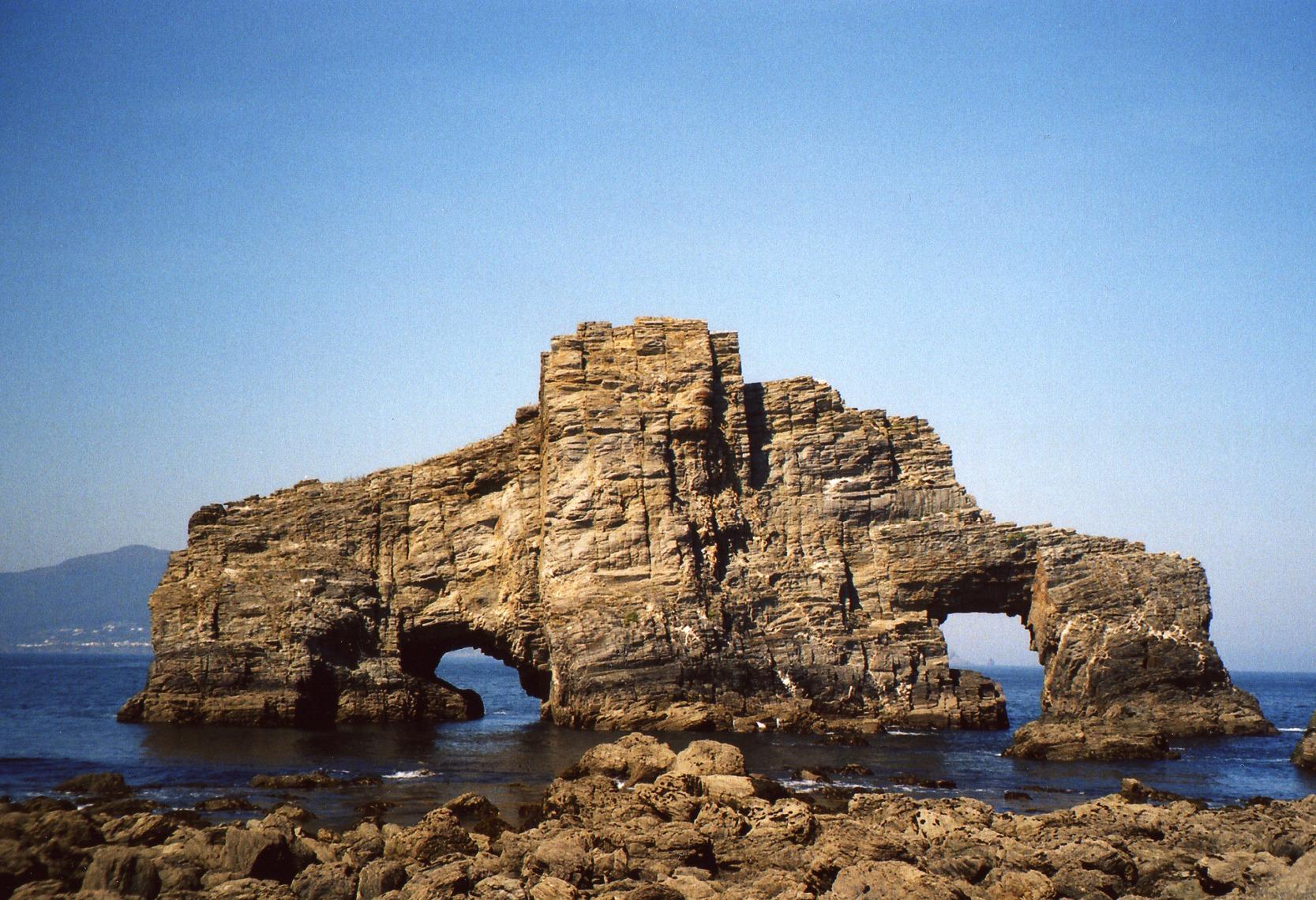 Foto playa Ribeira Grande. El pequeño Gigante