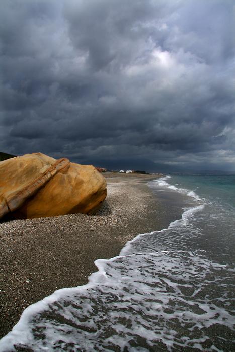 Foto playa La Galera. Estepona Bahia de Casares