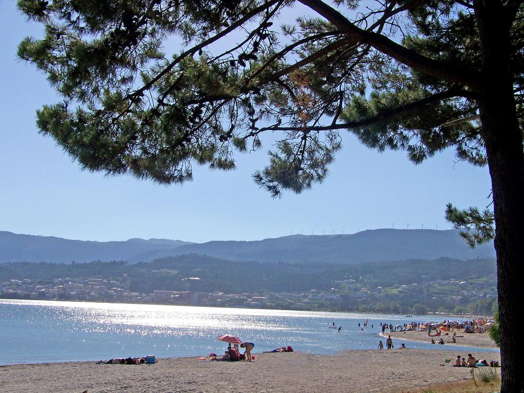 Foto playa Barraña / Jardín / Saltiño-Barraña. Playa de Baraña, Boiro