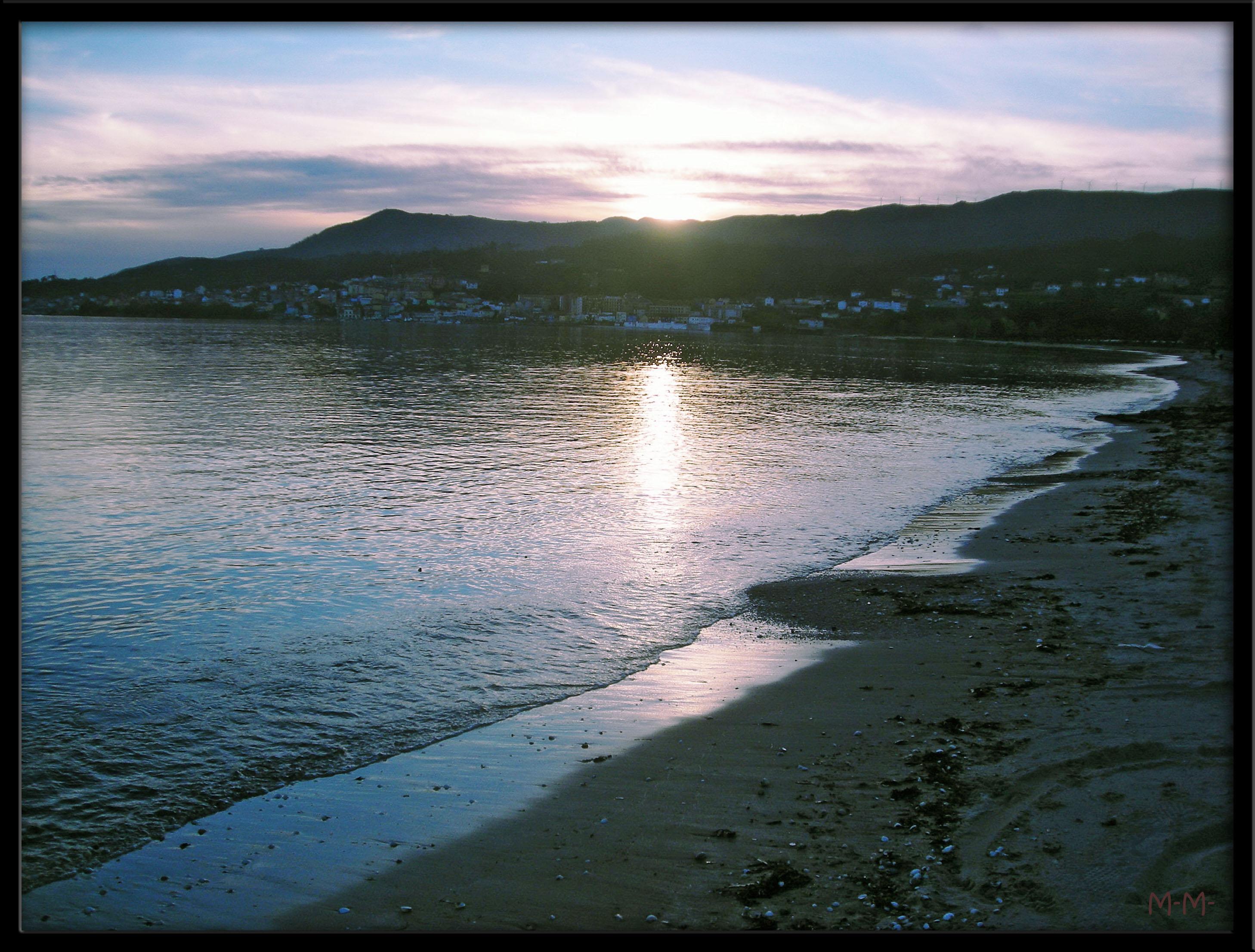 Foto playa Barraña / Jardín / Saltiño-Barraña. Escarabote sunset