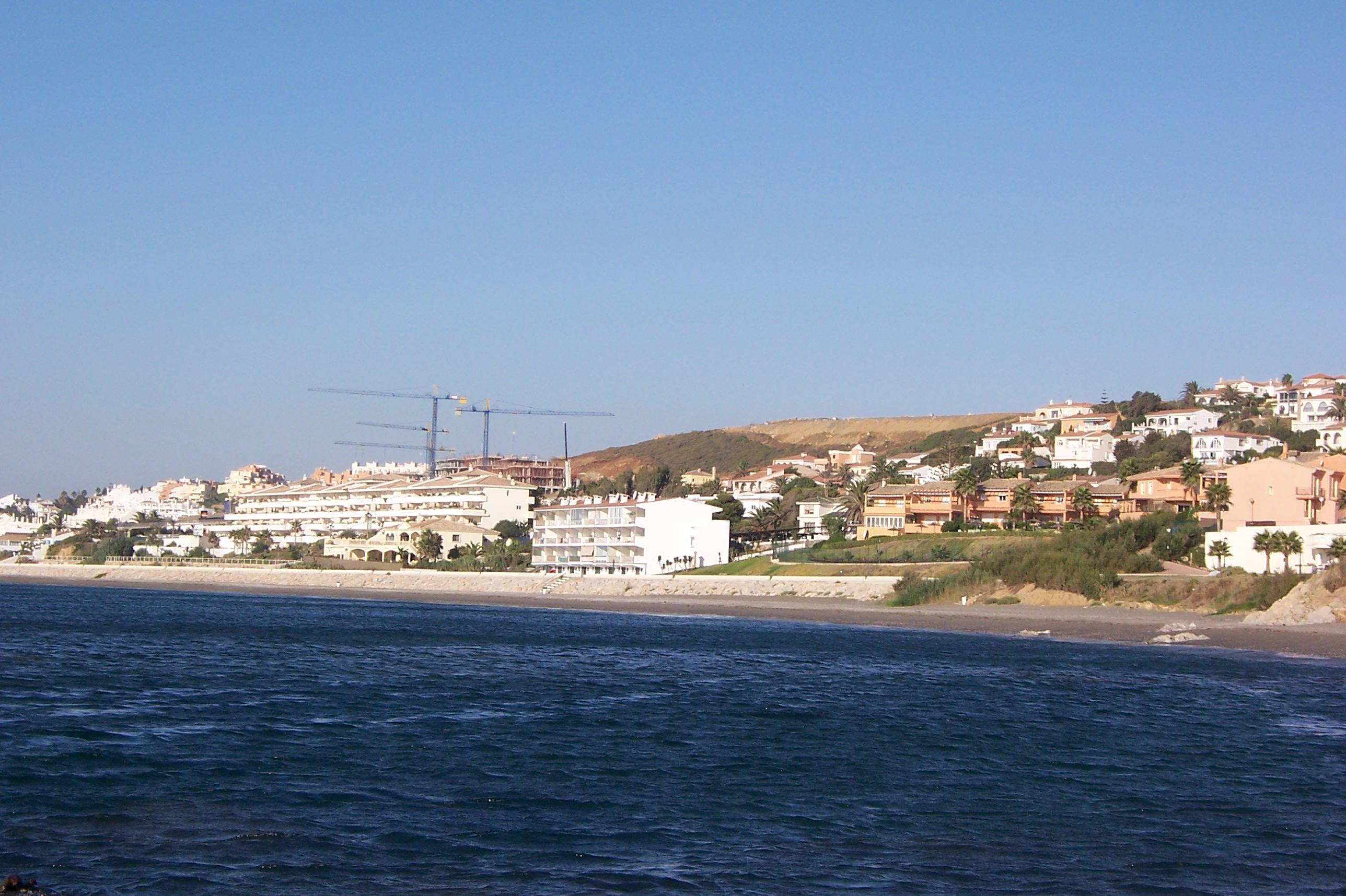 Foto playa La Galera. Buenas Noches vista desde Gurugu