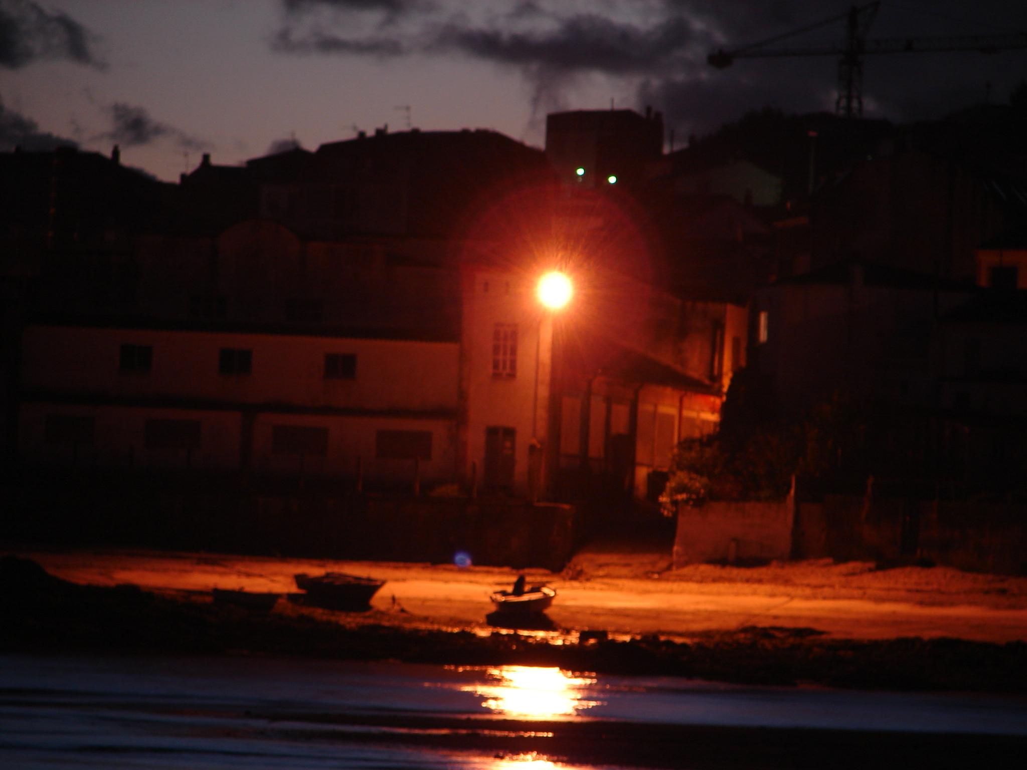 Foto playa La Poza. Un rincon de Escarabote desde  Boiro