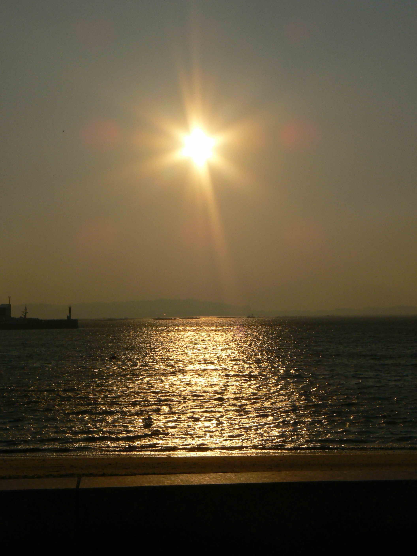 Foto playa Agronovo. APobraArenal3amanece