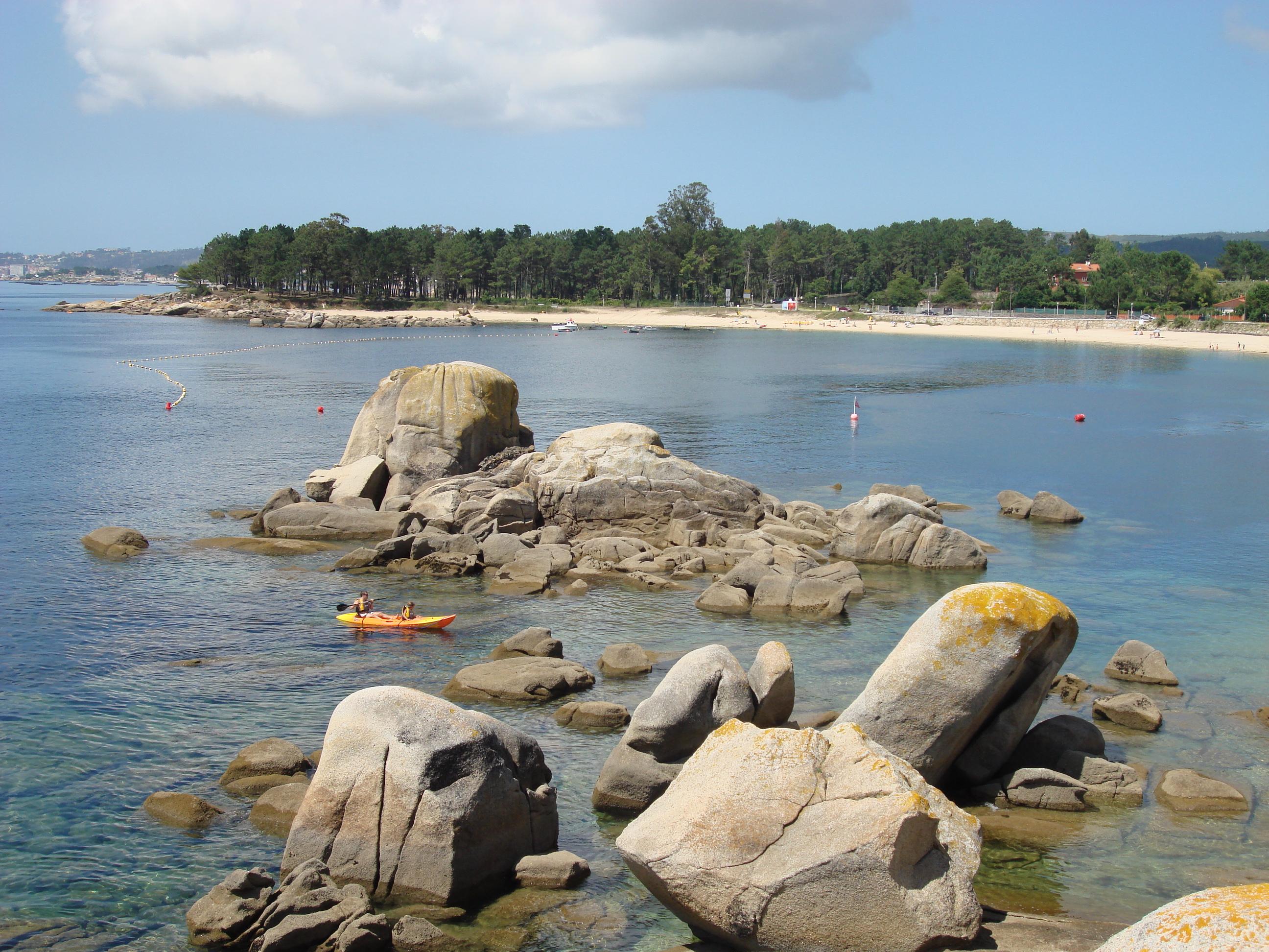 Playa A Corna / El Esteiro