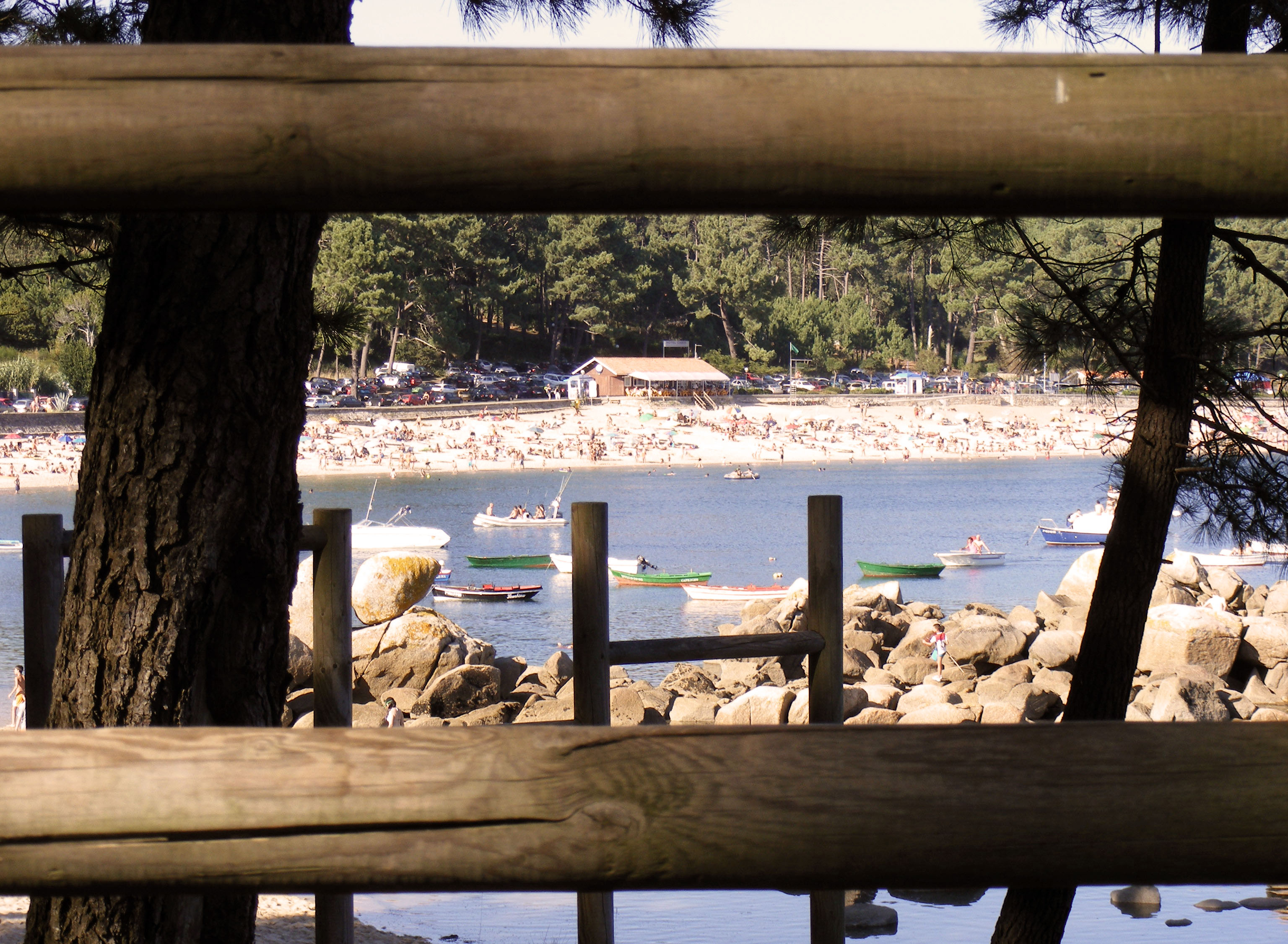 Foto playa Cruces. Cabio