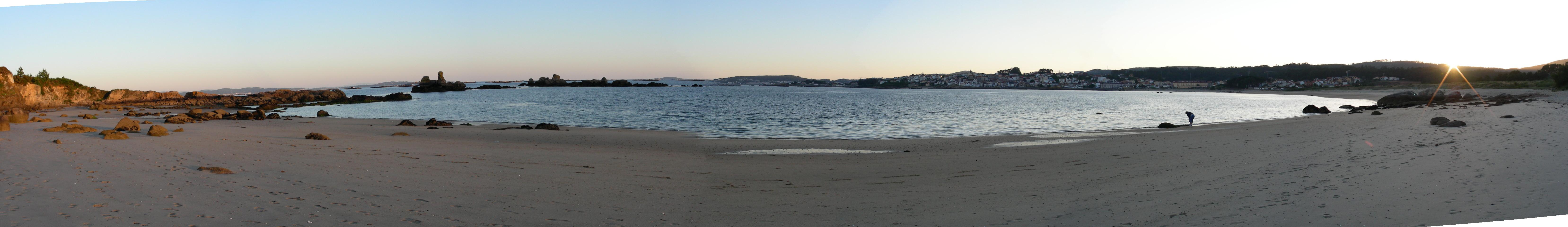 Foto playa A Cambra / Casqueiro. Paya de A Corna
