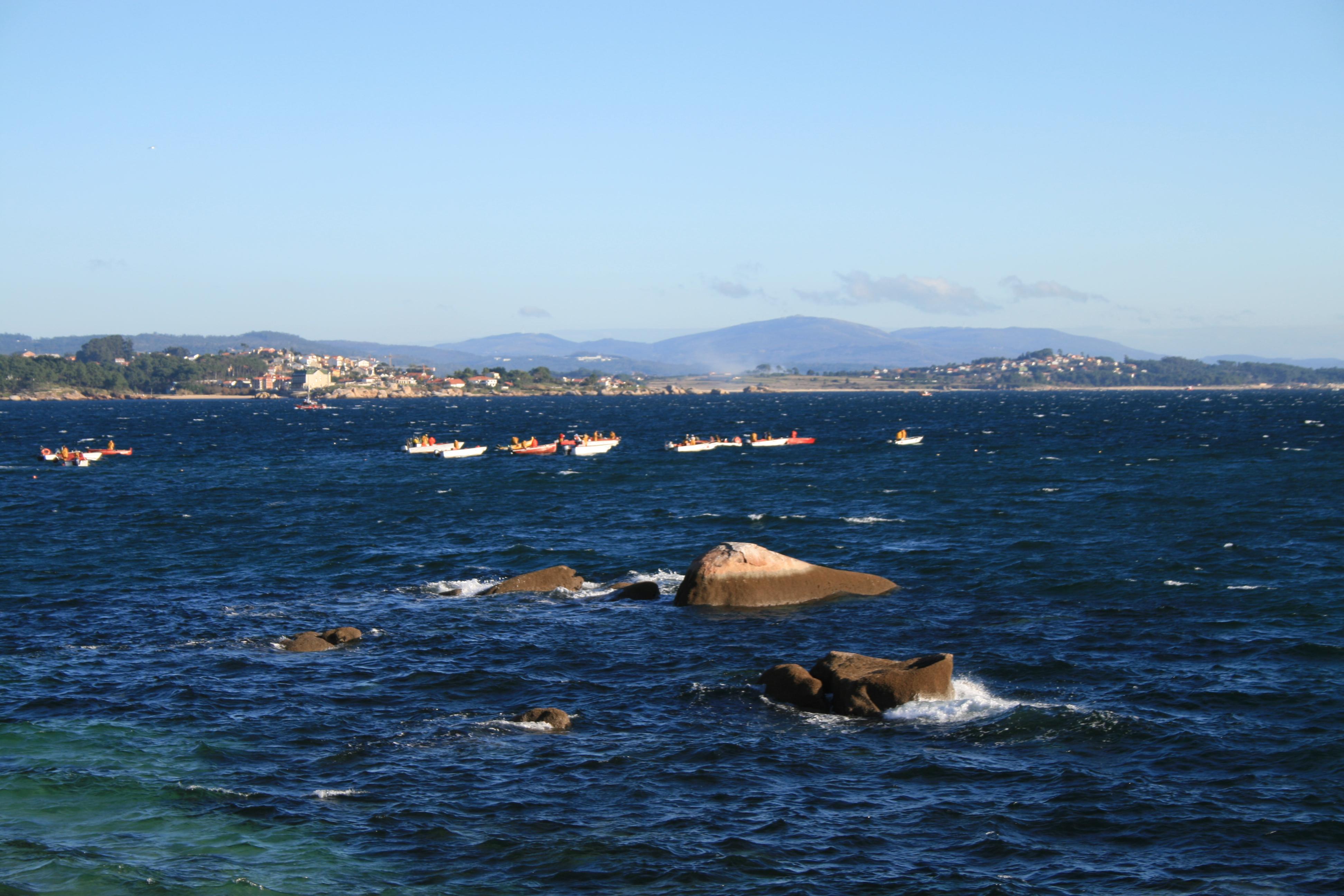 Foto playa Touro. O comezo da ameixeira 1