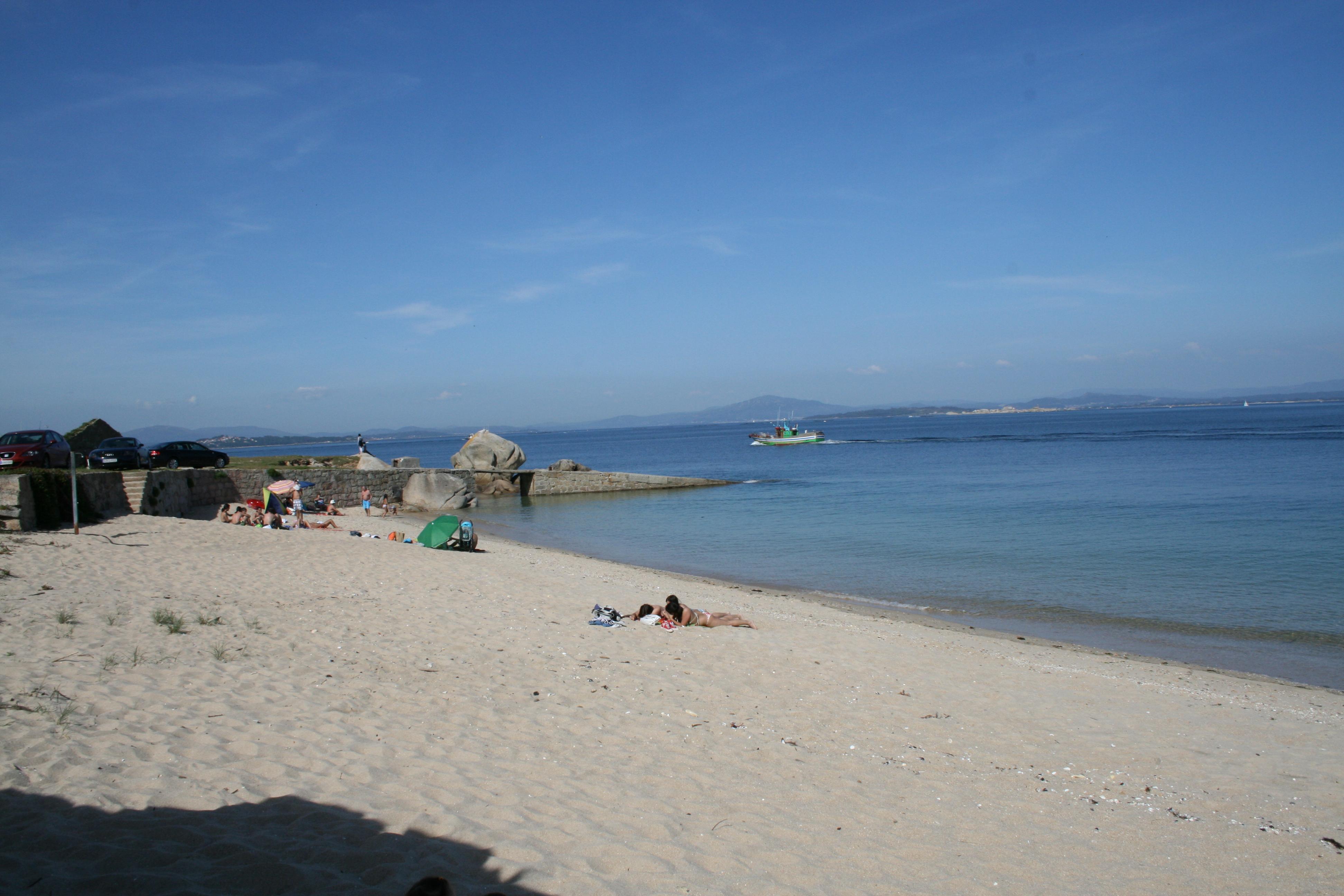Foto playa Touro. A Secada