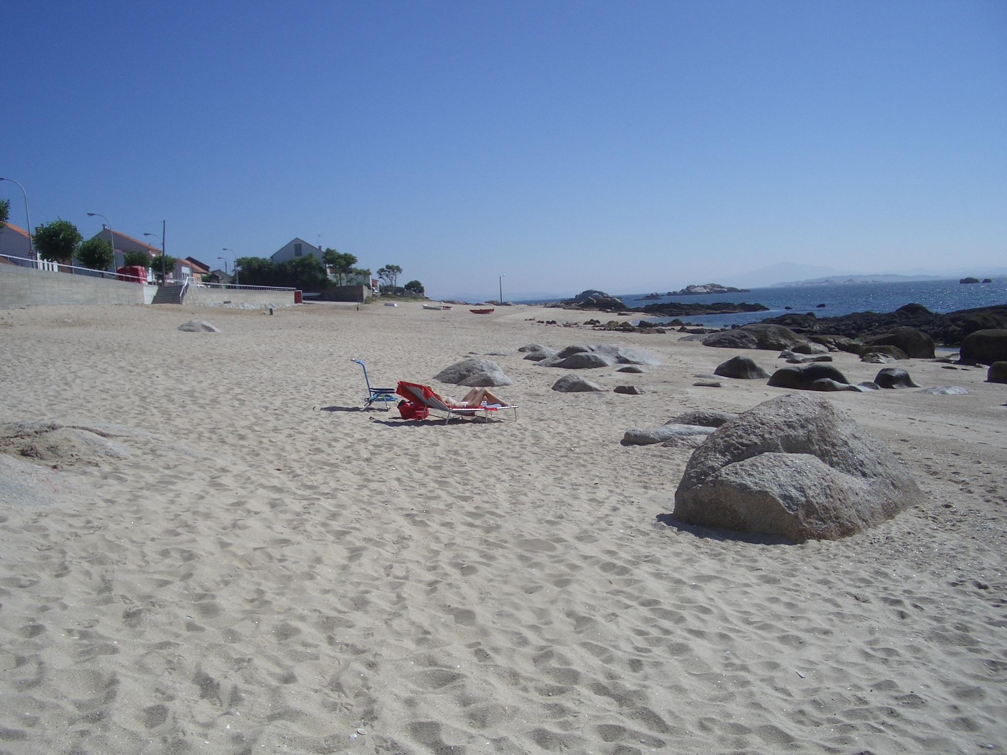 Foto playa Area Secada. Playa de Castiñeiras