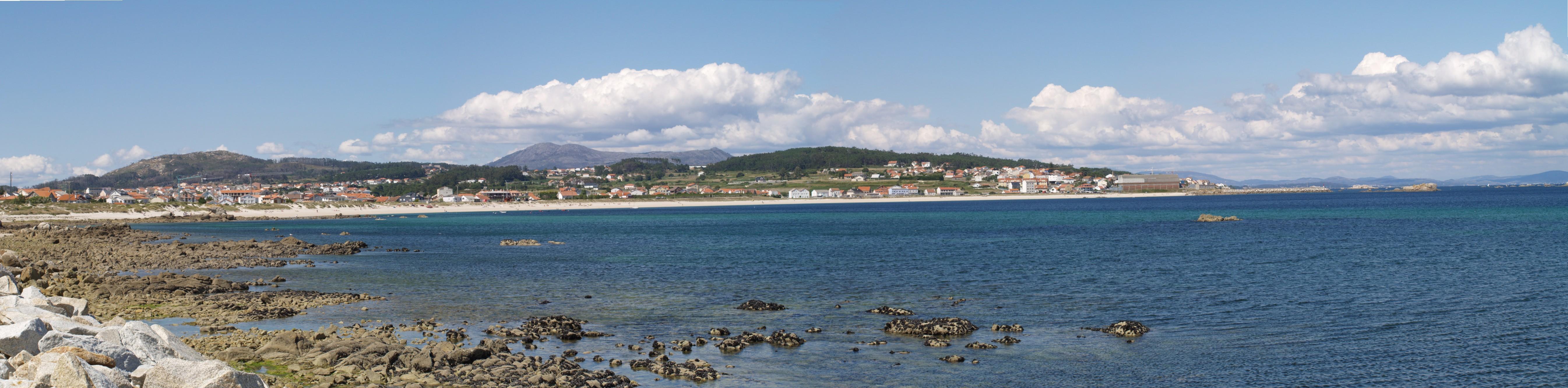 Foto playa Tasca. praia de aguiño
