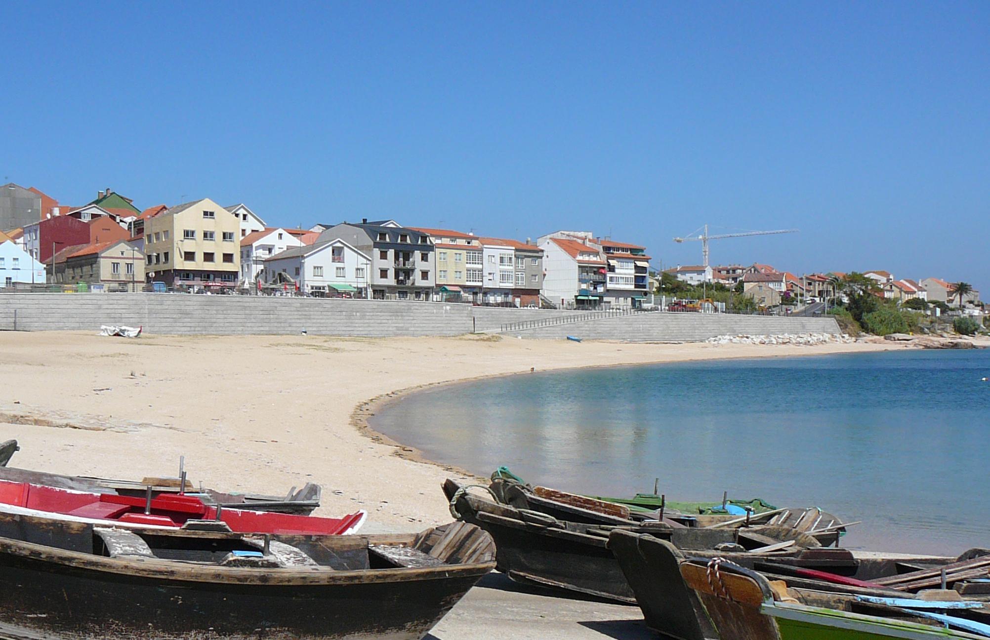 Foto playa Tasca. Castiñeiras - Riveira