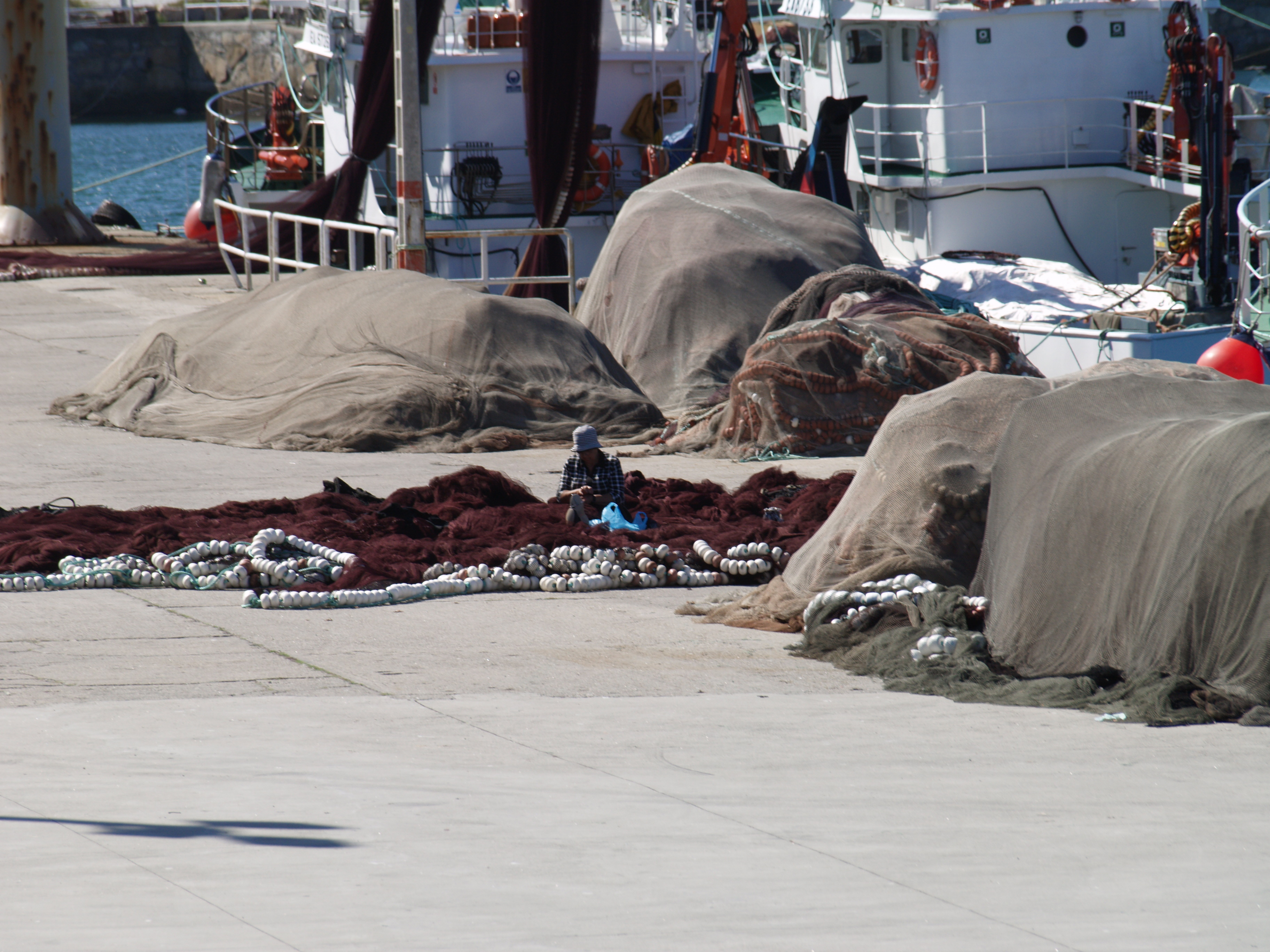 Foto playa Rego das Cargas. rederas