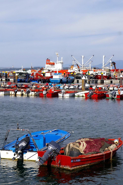 Foto playa Rego das Cargas. Santa Eugenia de Riveira, (Santa Uxia de Ribeira),  Coruña, Galicia, Spain
