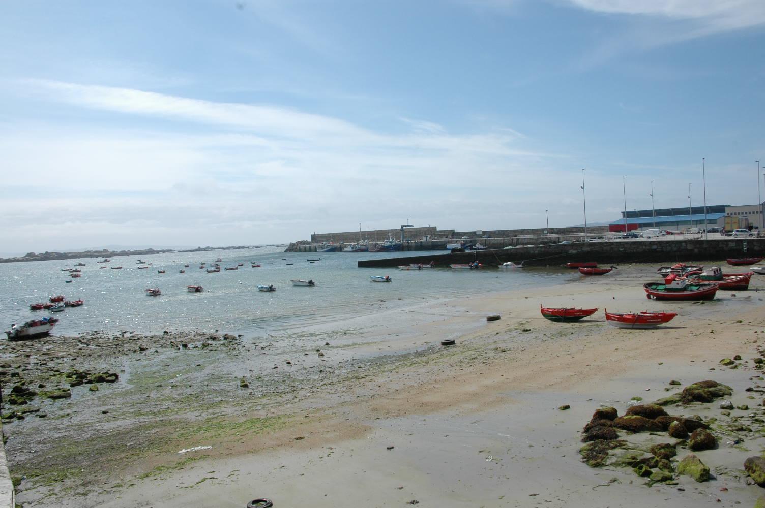 Foto playa Rego das Cargas. porto de aguiño