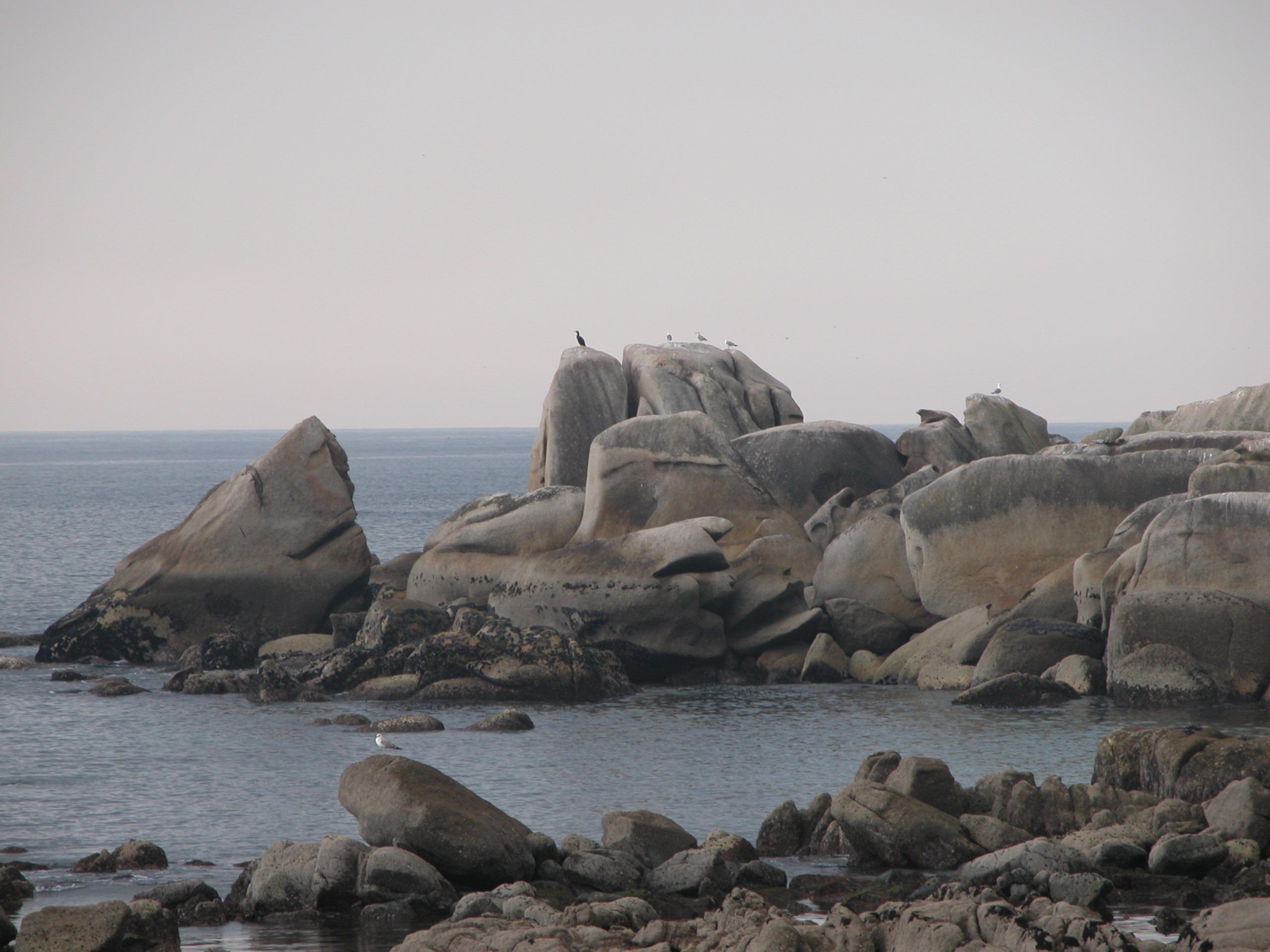 Foto playa Area Basta. Punta Couso (Ribeira)
