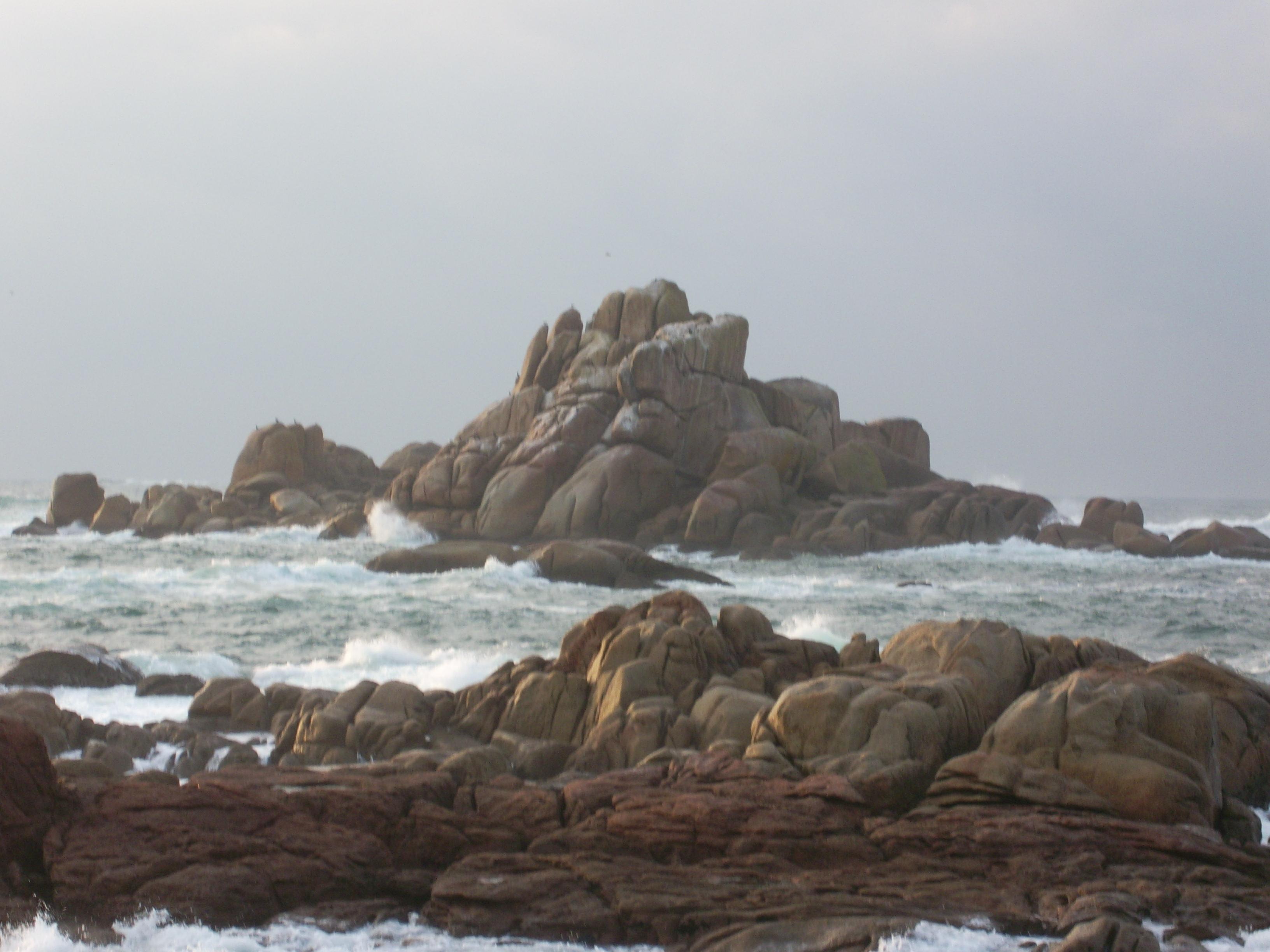 Foto playa Area Basta. Falcoeiro. Aghiño