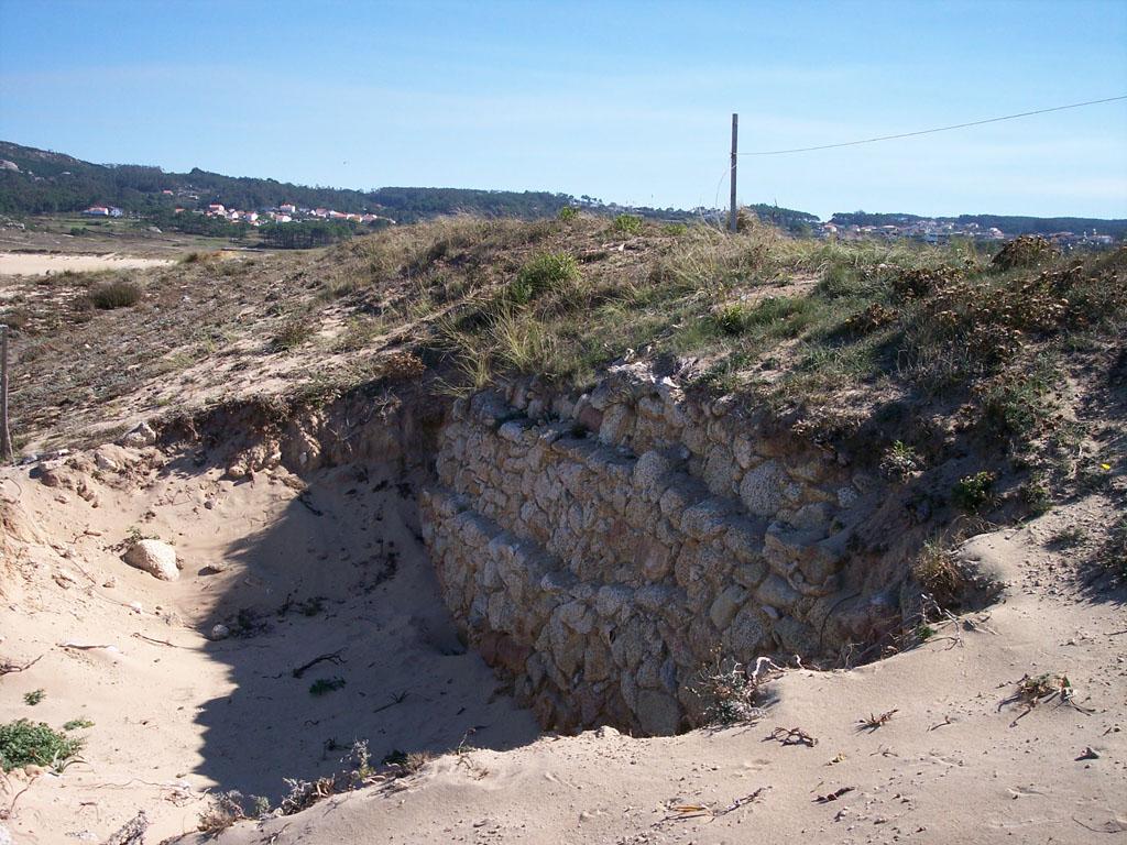 Foto playa Vilar / O Vilar. Castro do Porto de Baixo (Carreira)