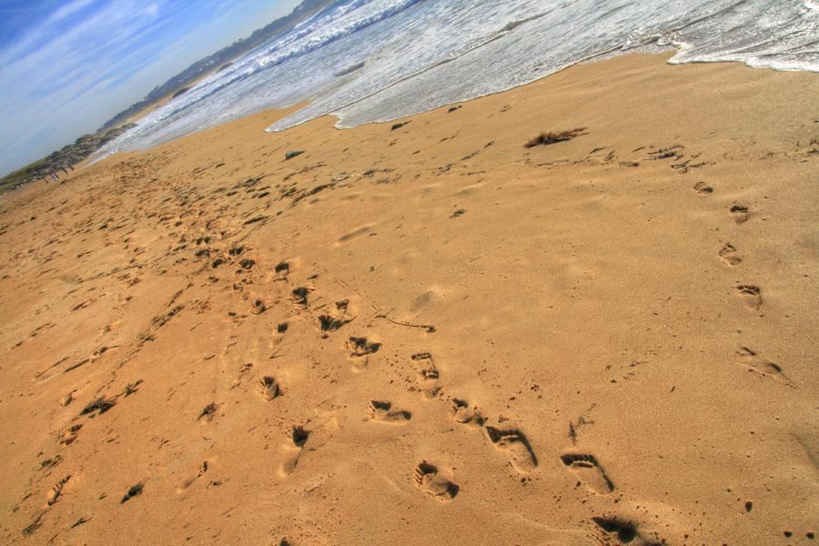 Foto playa Vilar / O Vilar.