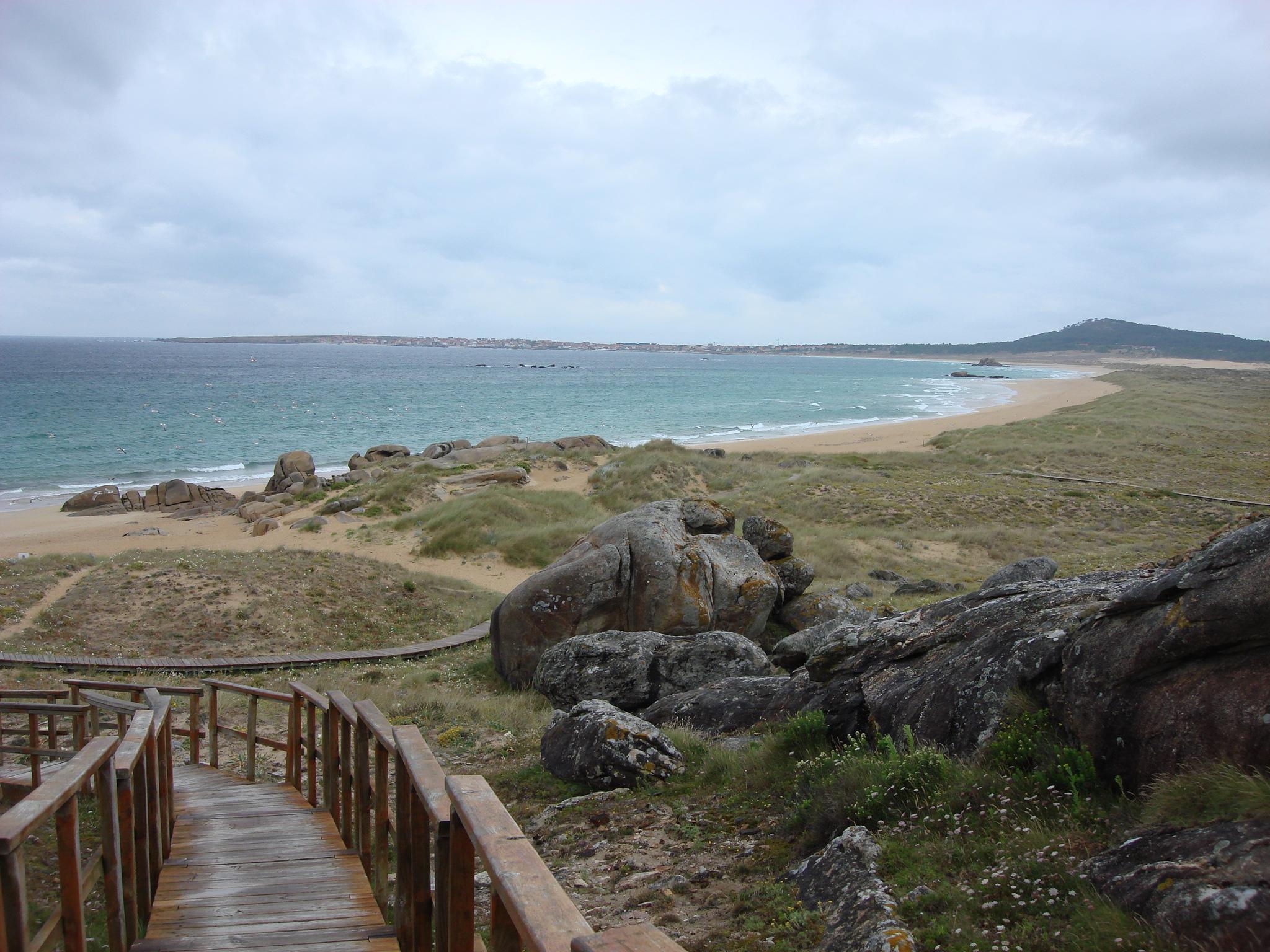 Foto playa Lagoa de Vixan / Anguieiro / Anguieira. CORRUBEDO 1