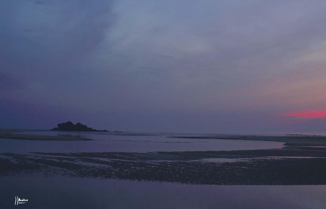 Foto playa A Ladeira / Las Dunas. playa de Corrubedo